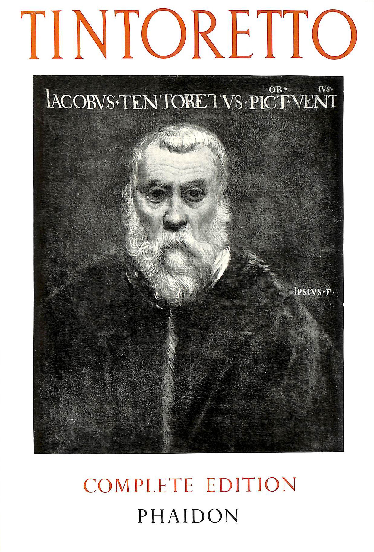 Image for TINTORETTO: THE PAINTINGS AND DRAWINGS.