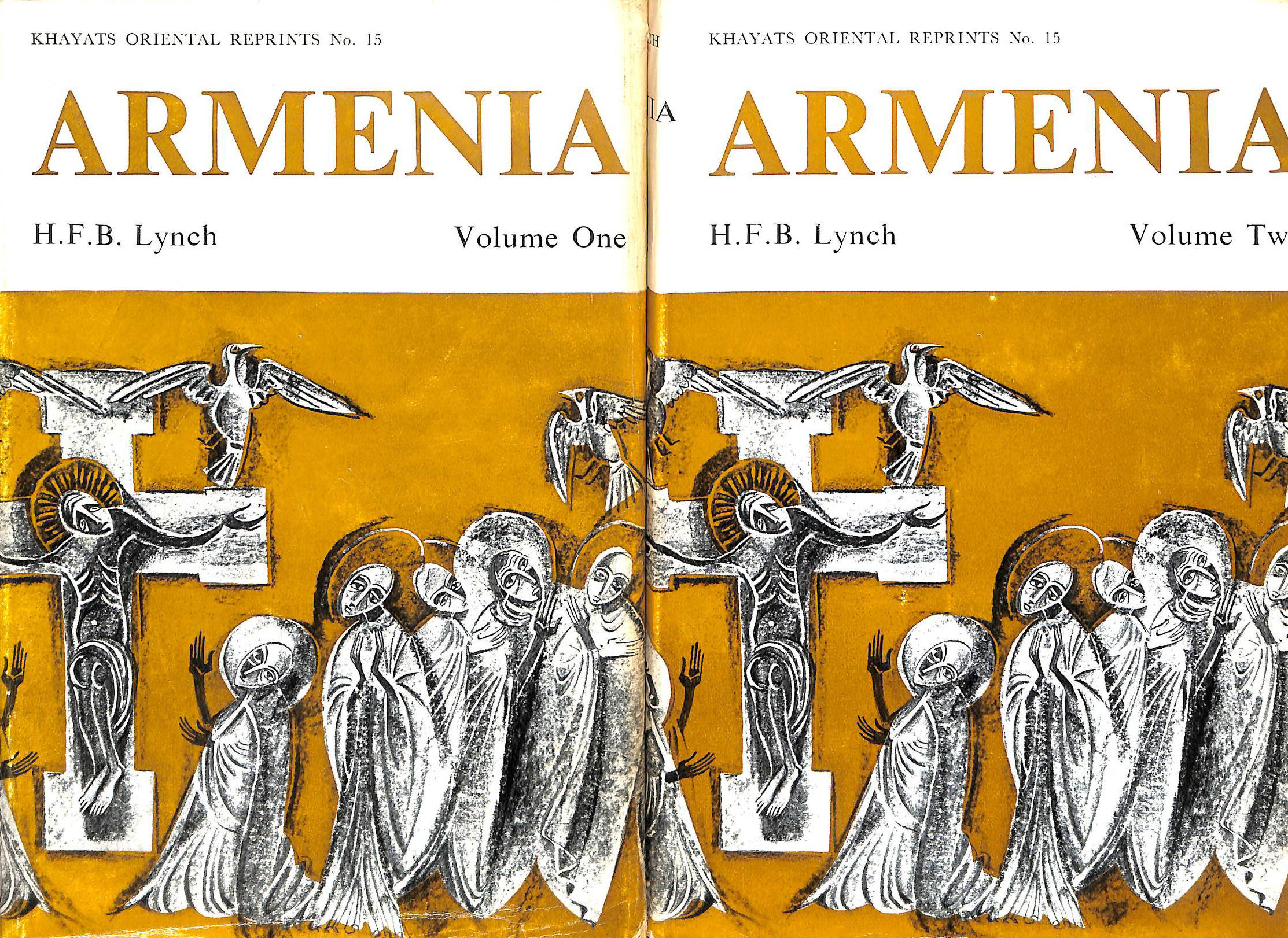 Image for Armenia, travels and studies. Volume 1. The Russian Provinces. Volume 2: The Turkish Provinces. TWO VOLUME SET