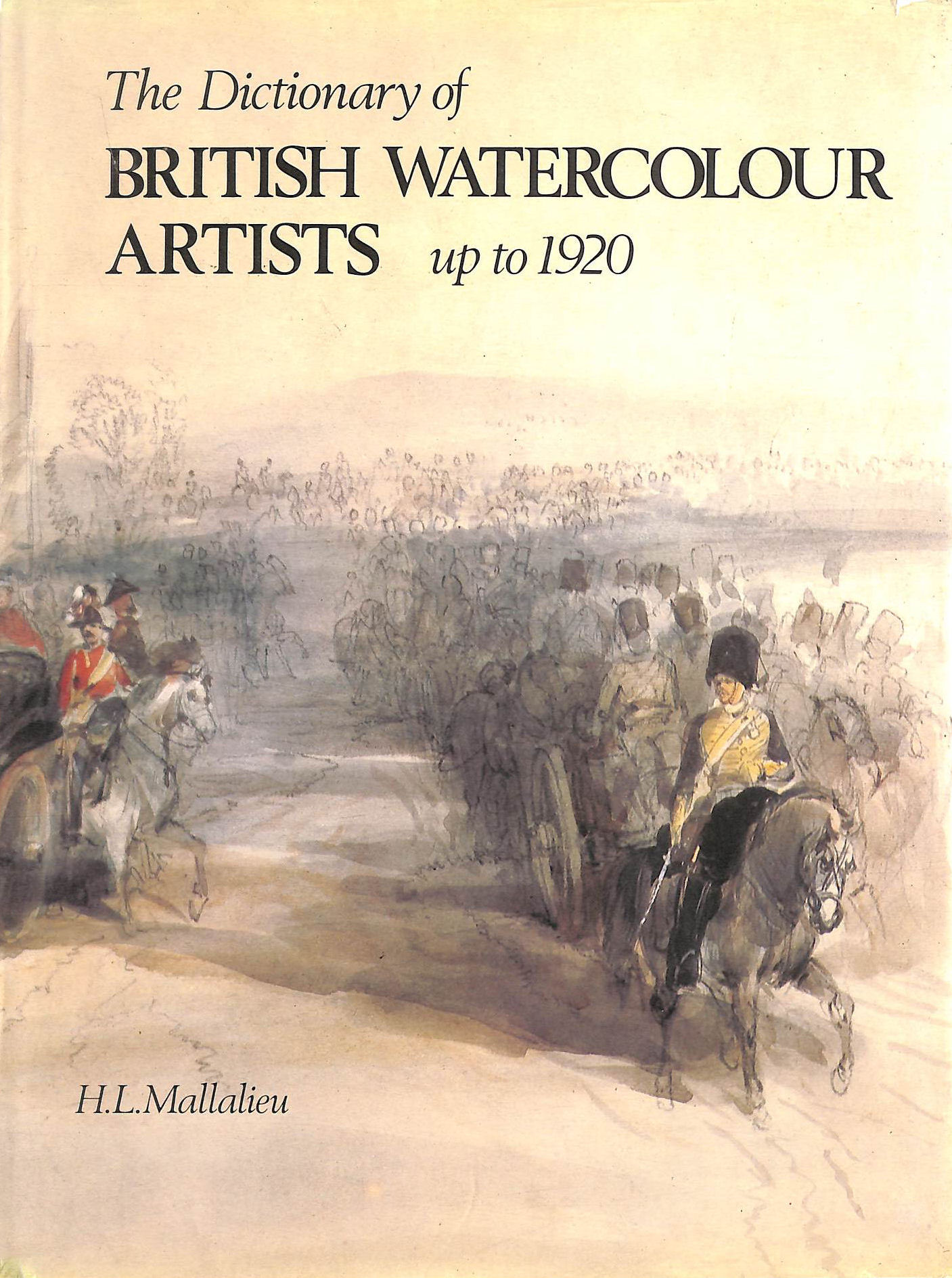 Image for Dictionary of British Watercolour Artists Up to 1920 Text