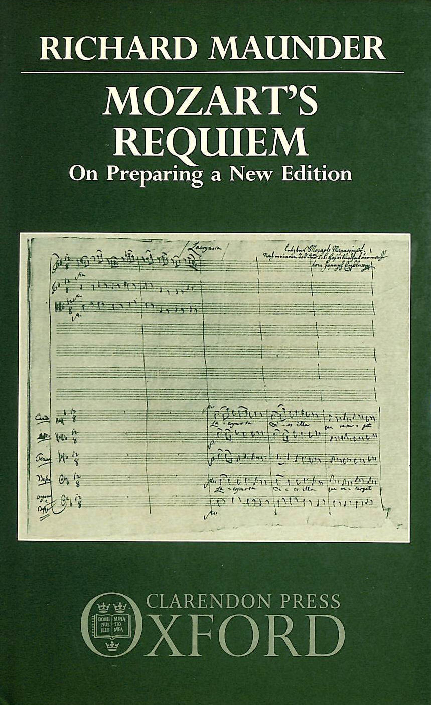 Image for Mozart's Requiem: On Preparing a New Edition