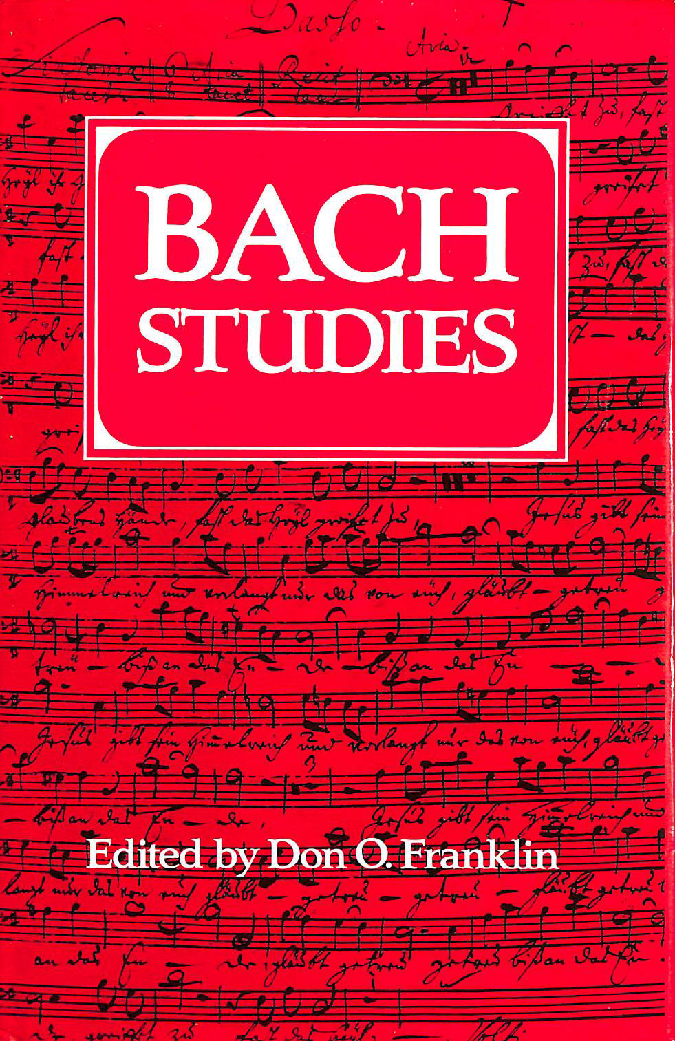 Image for Title: Bach Studies
