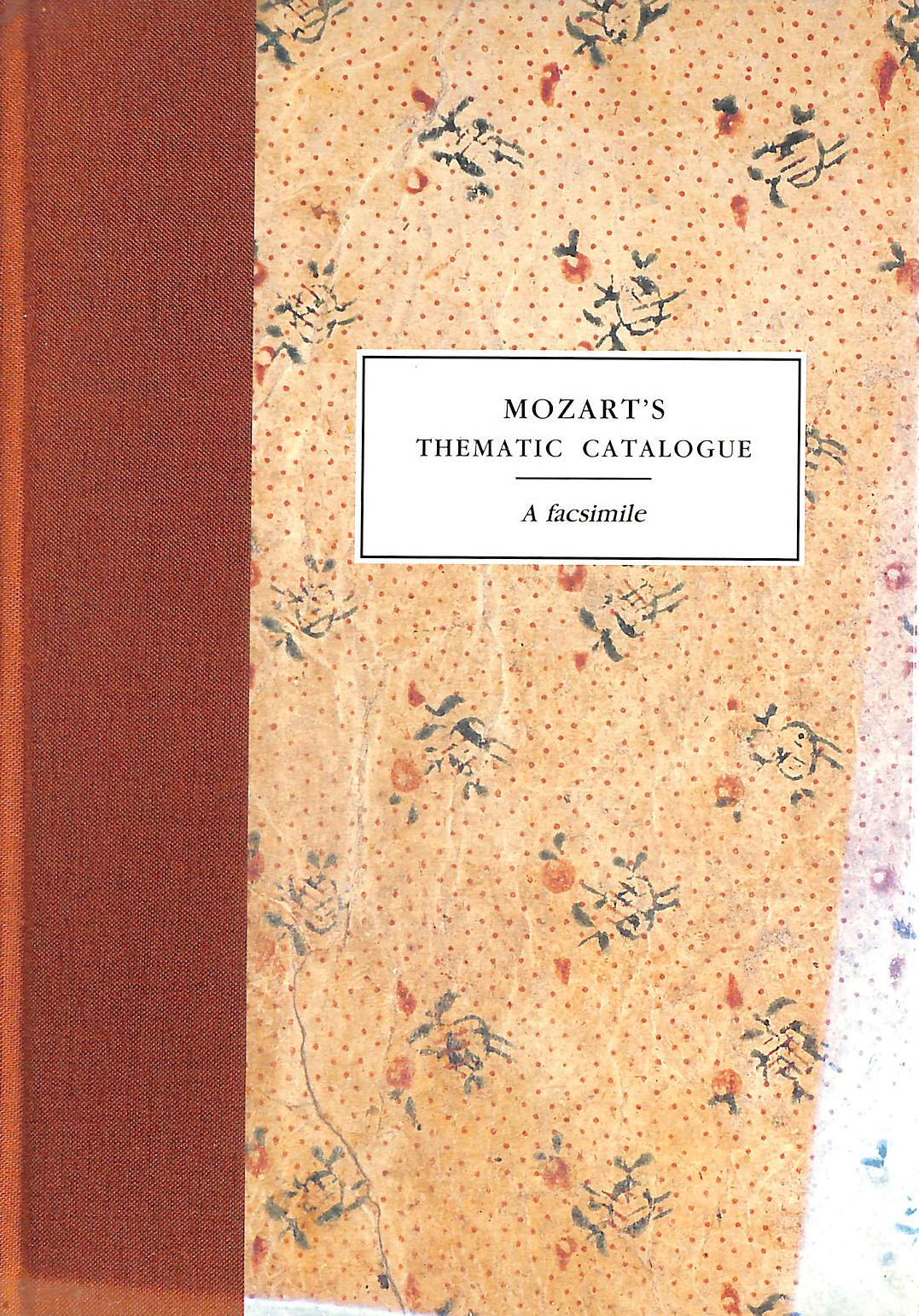 Image for Mozart's Thematic Catalogue