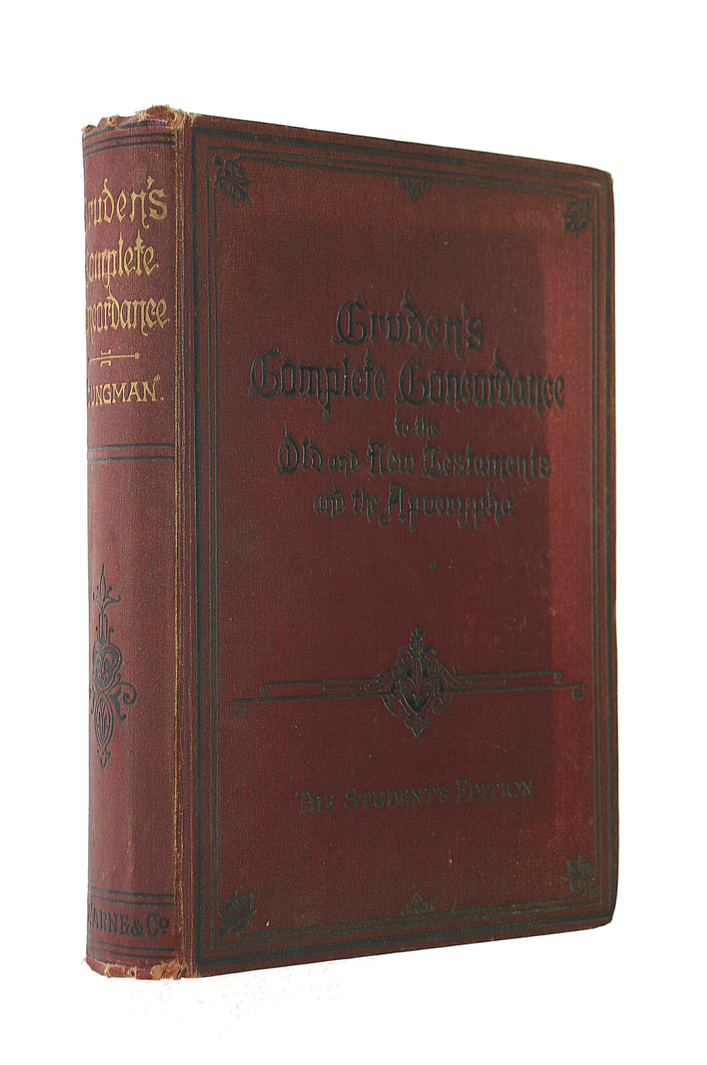 Image for Cruden's Complete Concordance to the Old and New Testaments and the Apocrypha