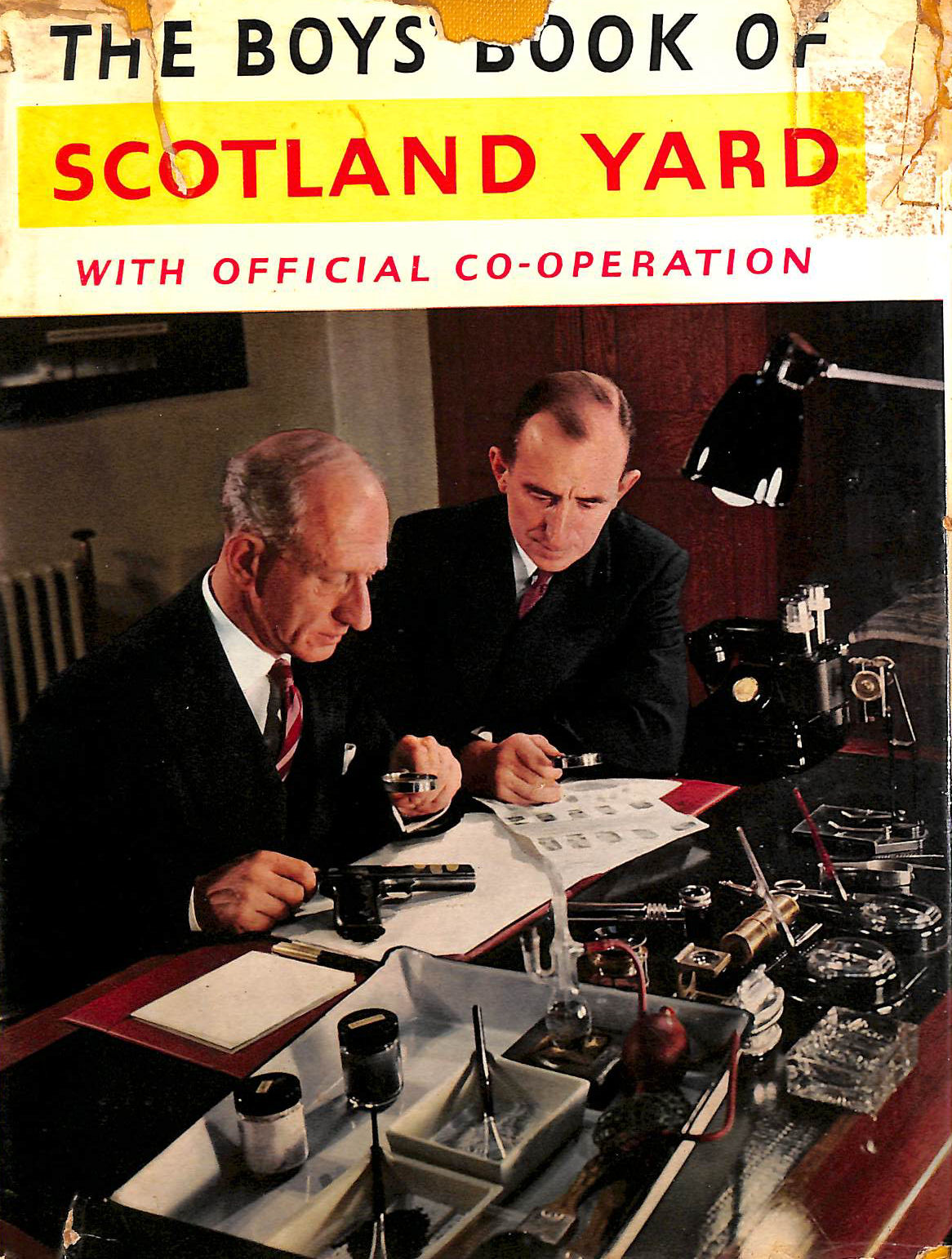 Image for The Boys' book of Scotland Yard; with official co-operation