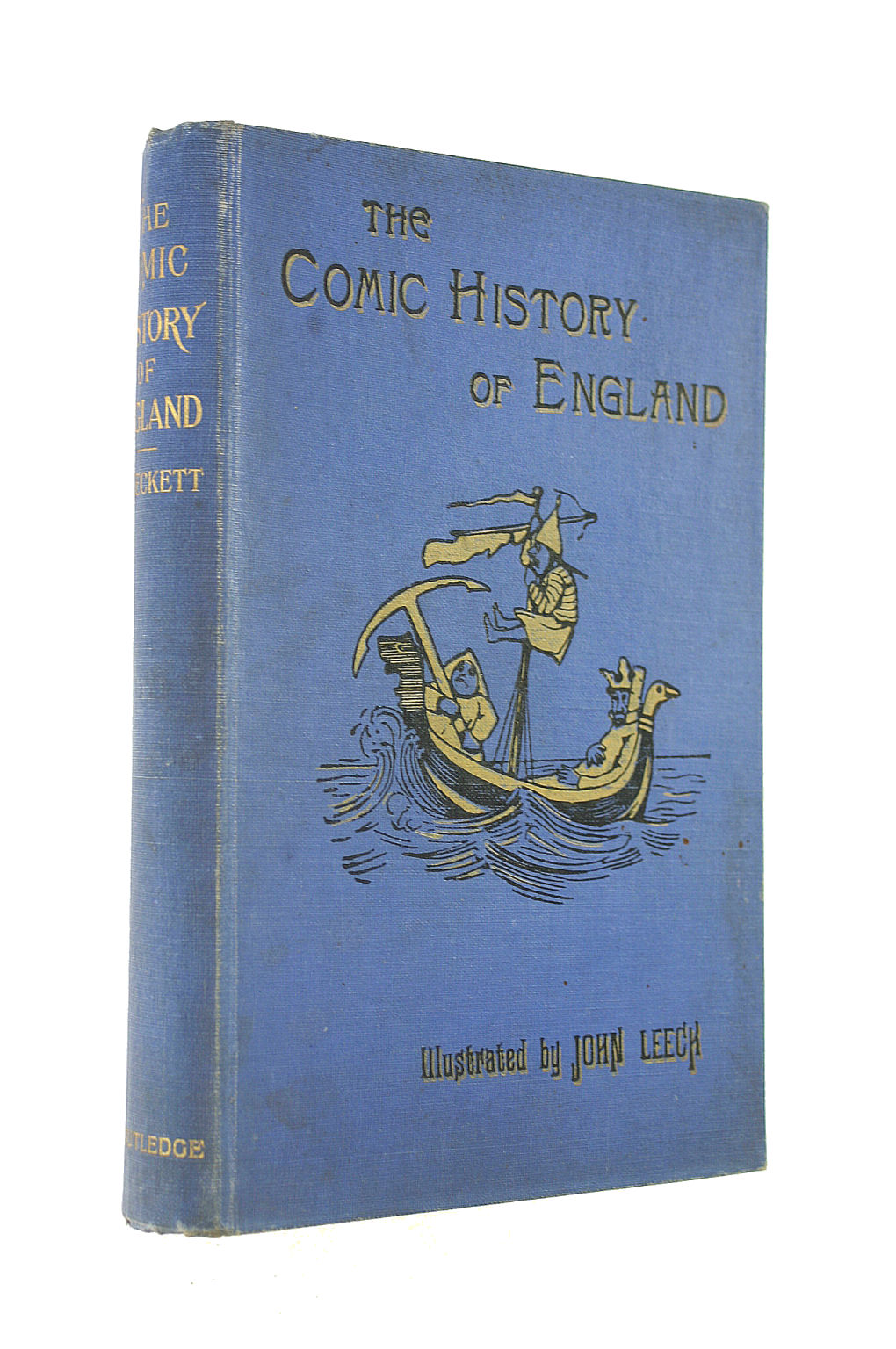 Image for The Comic History of England with reproductions of the 200 engravings by John Leech and twenty page illustrations