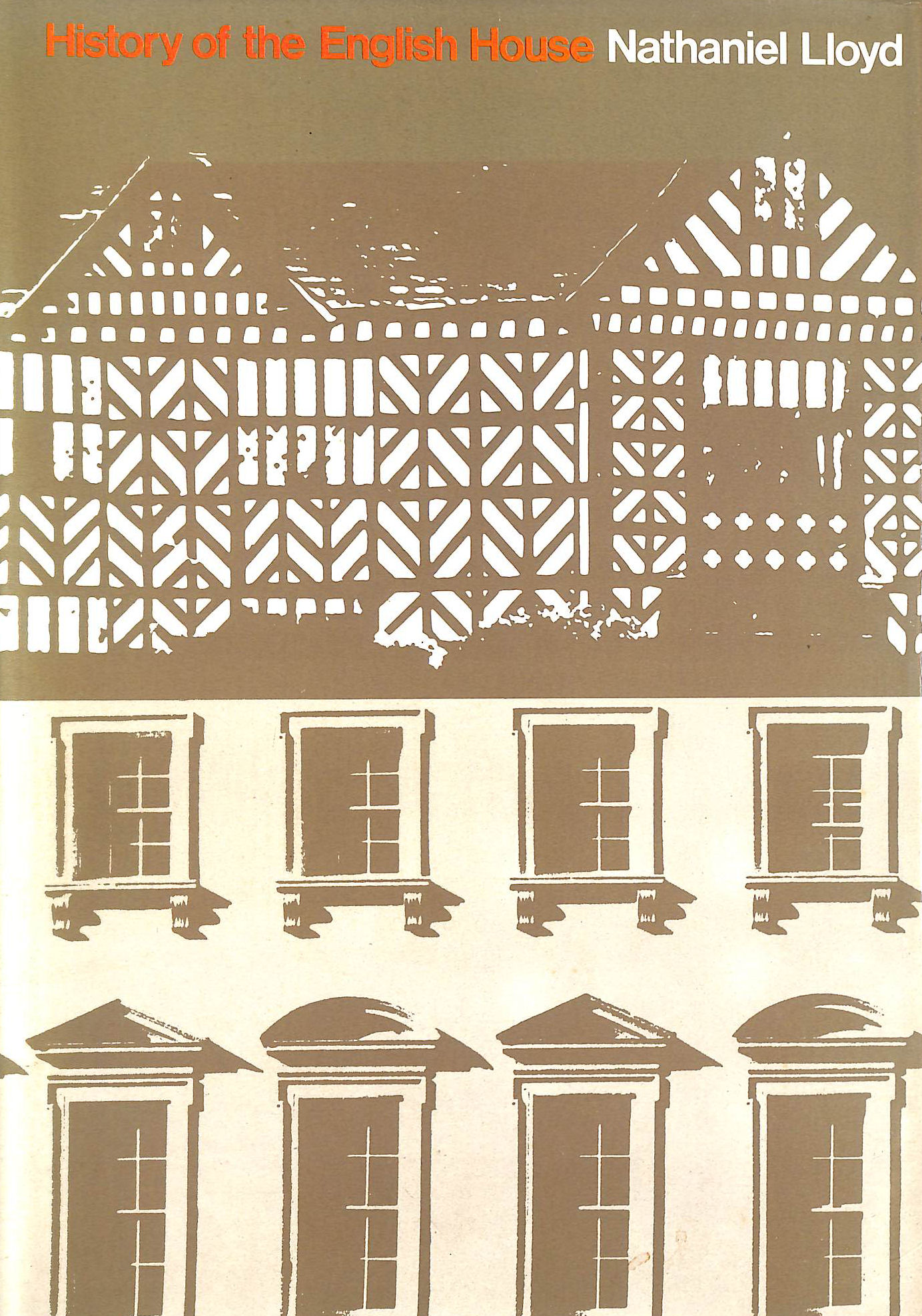 Image for History of the English House