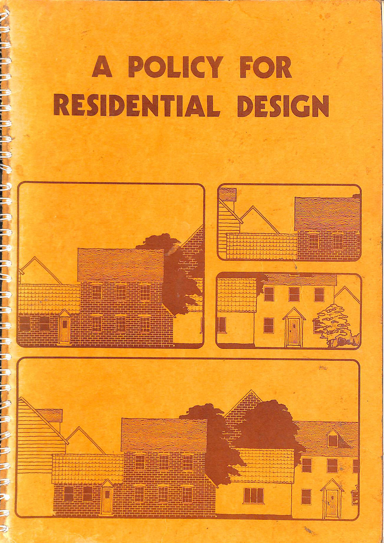 Image for A Policy for residential Design