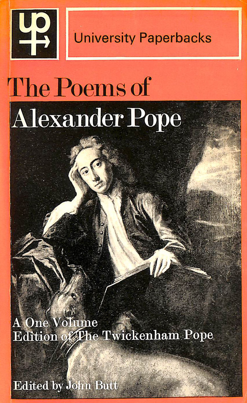 Image for The Poems of Alexander Pope. A One Volume Edition of the TWICKENHAM POPE.