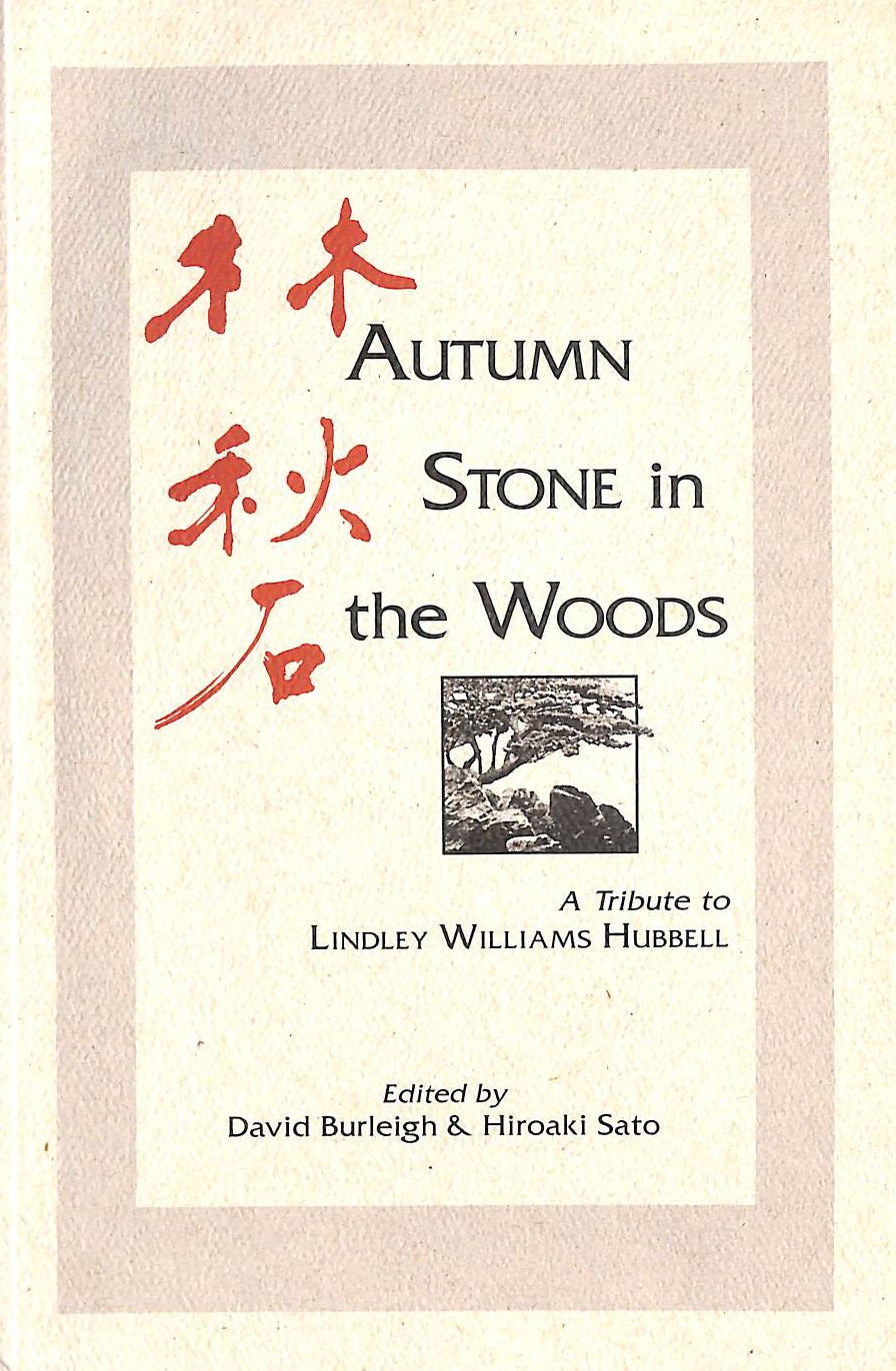 Image for Autumn stone in the woods: A tribute to Lindley Williams Hubbell