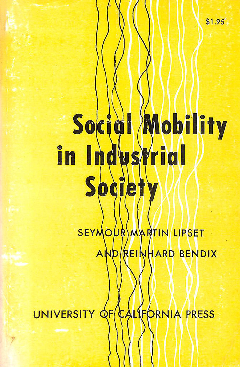 Image for Social mobility in industrial society