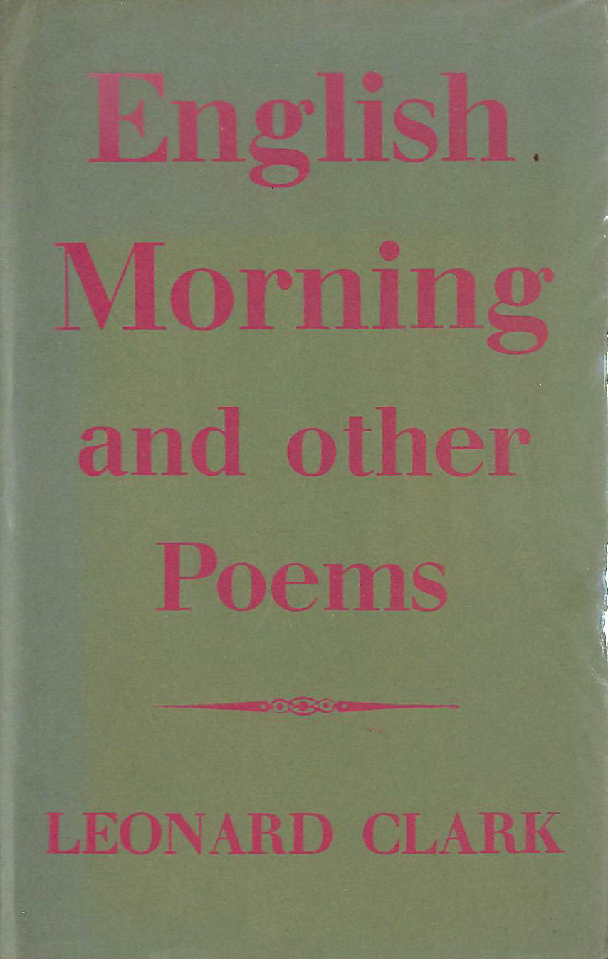 Image for English morning and other poems