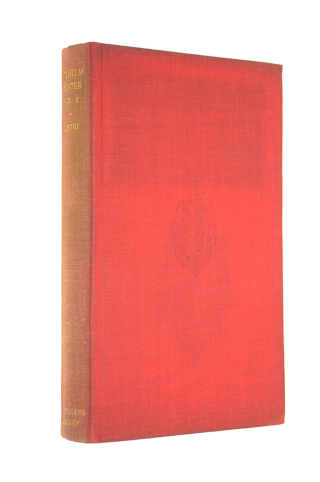 Image for Wilhelm Meister Volume Two