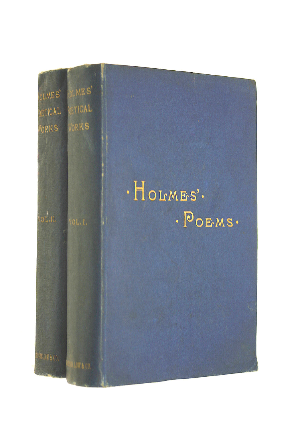 Image for The poetical works of Oliver Wendall Holmes, 2 vols