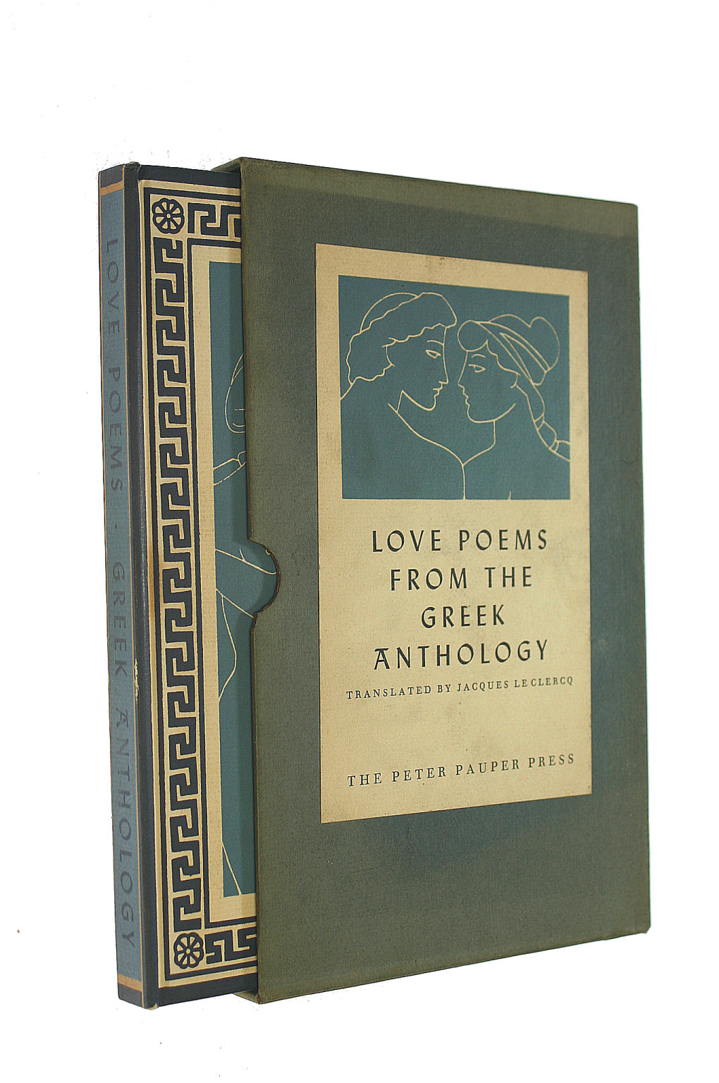 Image for Love Poems From The Greek Anthology
