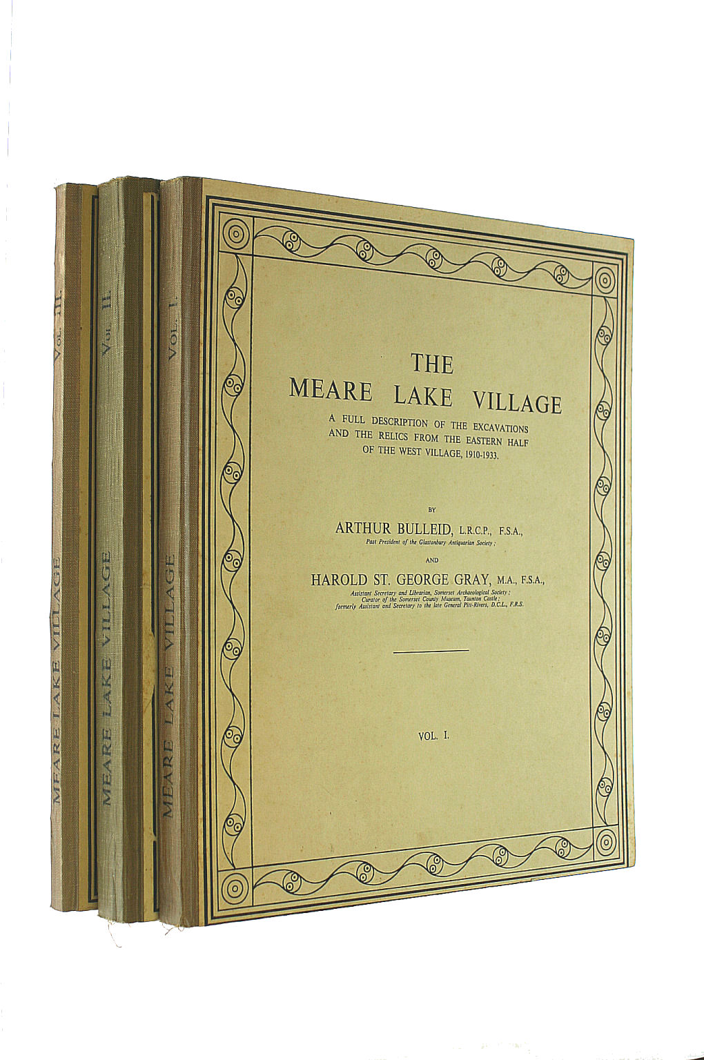 Image for The Meare Lake Village; A Full Description Of The Excavations And The Relics From The Eastern Half Of The West Village, 1910-1933. 3 Volumes.