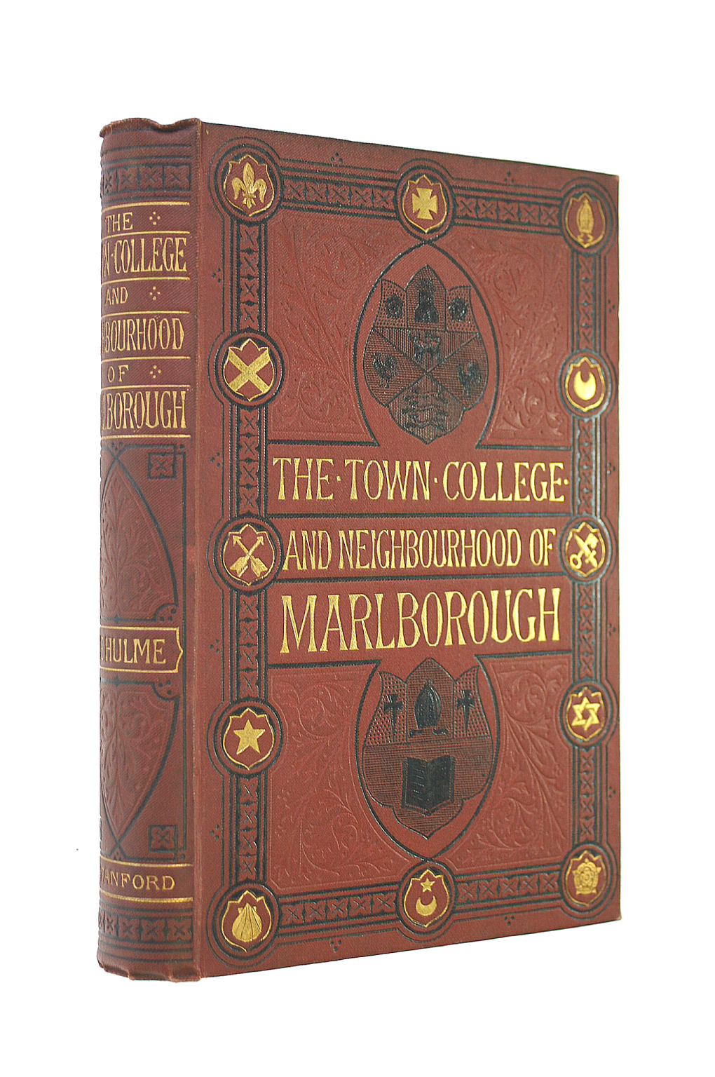 Image for The Town, College And Neighbourhood Of Marlborough. With Illustrations.