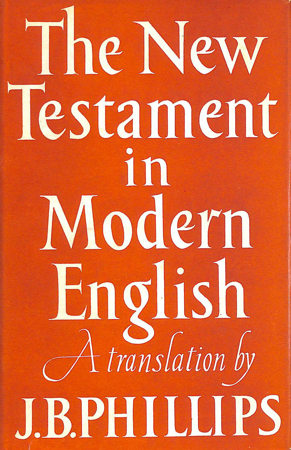 Image for The New Testament in Modern English