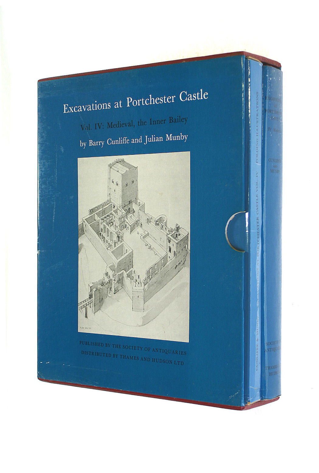 Image for Excavations at Portchester Castle: Medieval, the Inner Bailey Vol 4 (Research Reports)