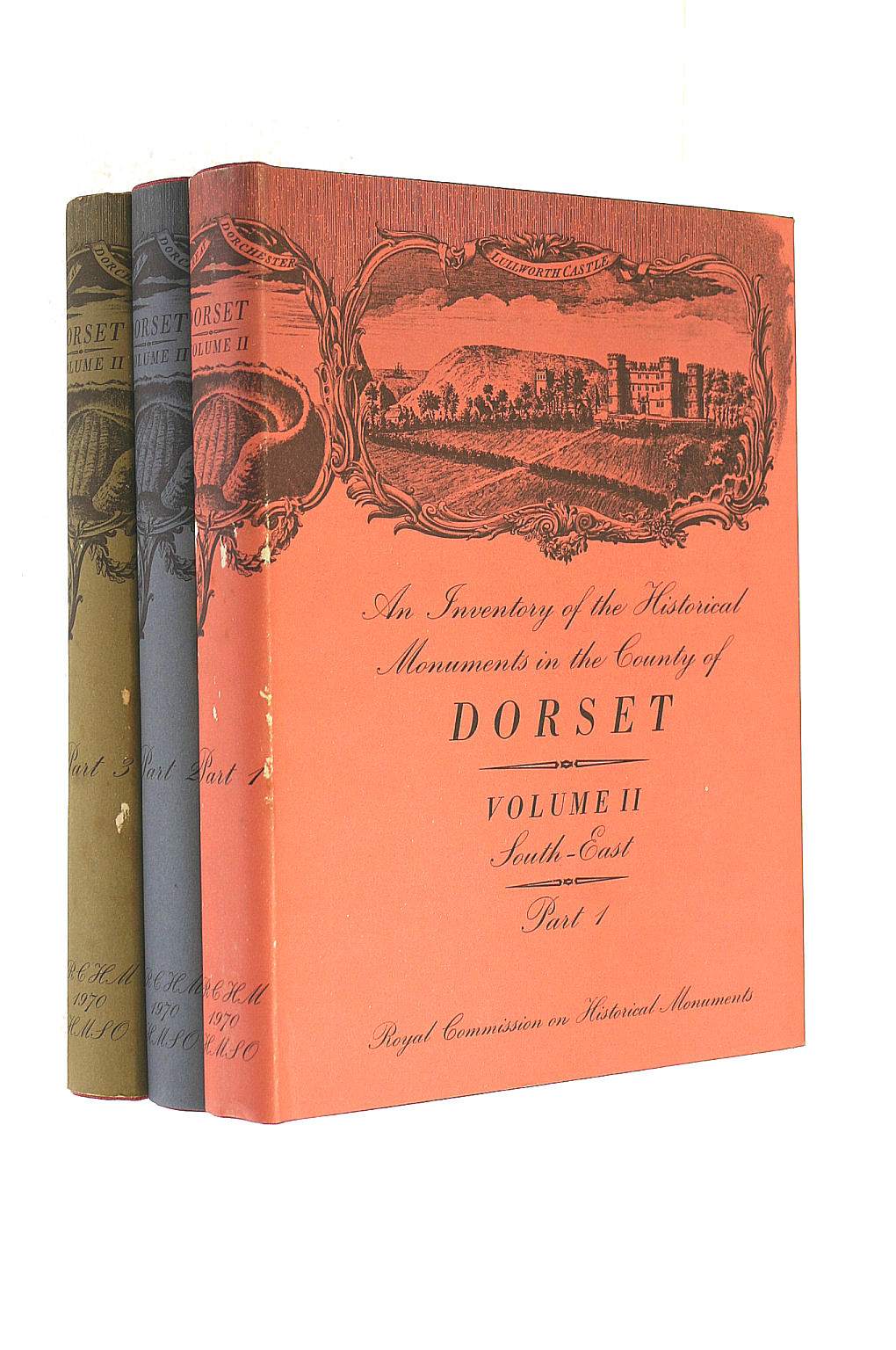 Image for Inventory Of Historical Monuments In The County Of Dorset :Volume II: South-East Part 1, 2 and 3