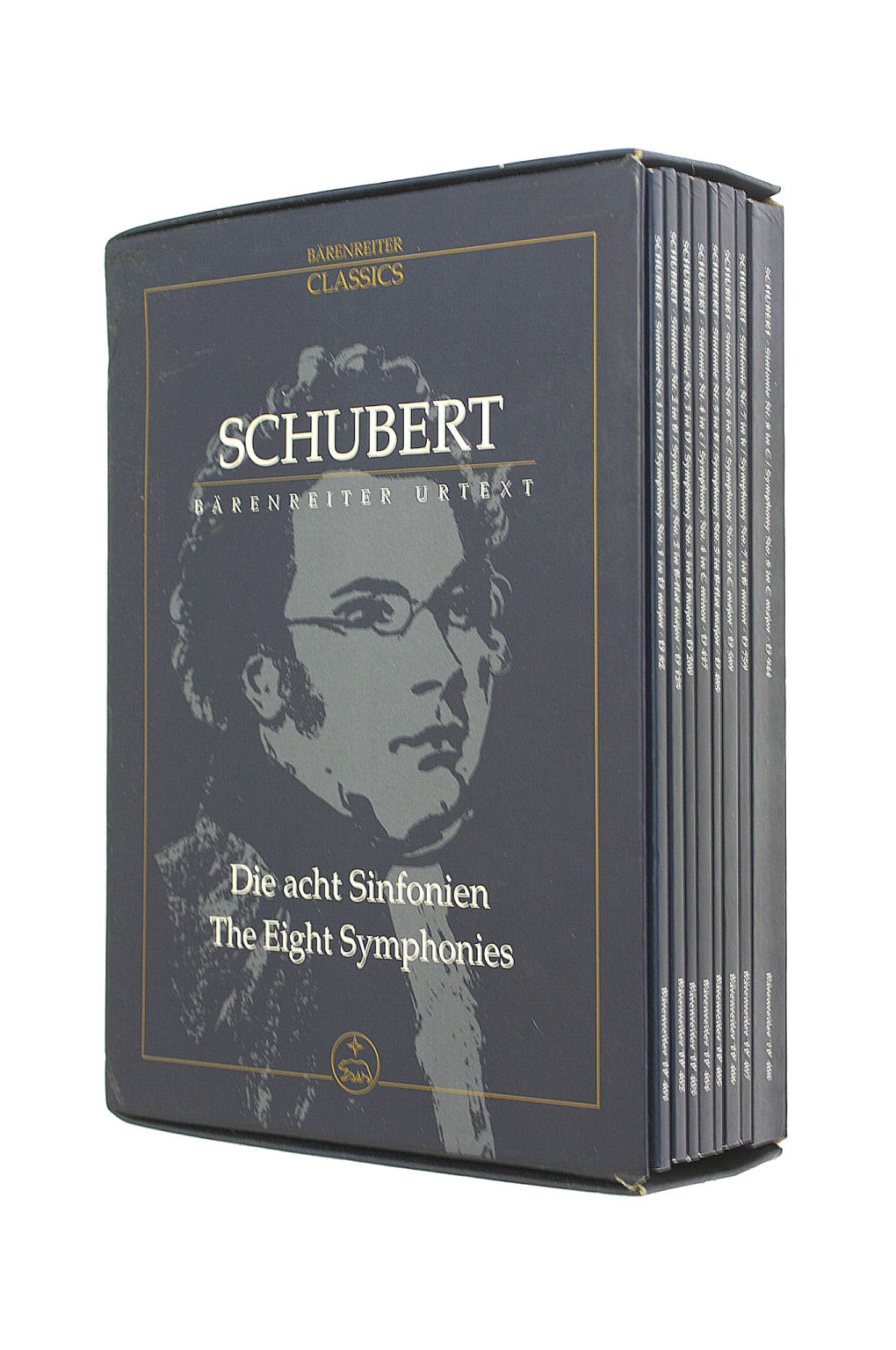 Image for Schubert, Franz The Eight Symphonies