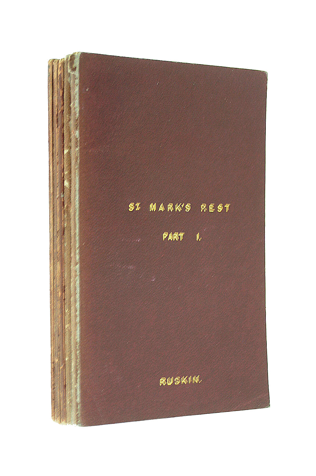 Image for St. Mark's Rest: 5 Volumes. Part I, II and III: The History of Venice. First and Second Supplements