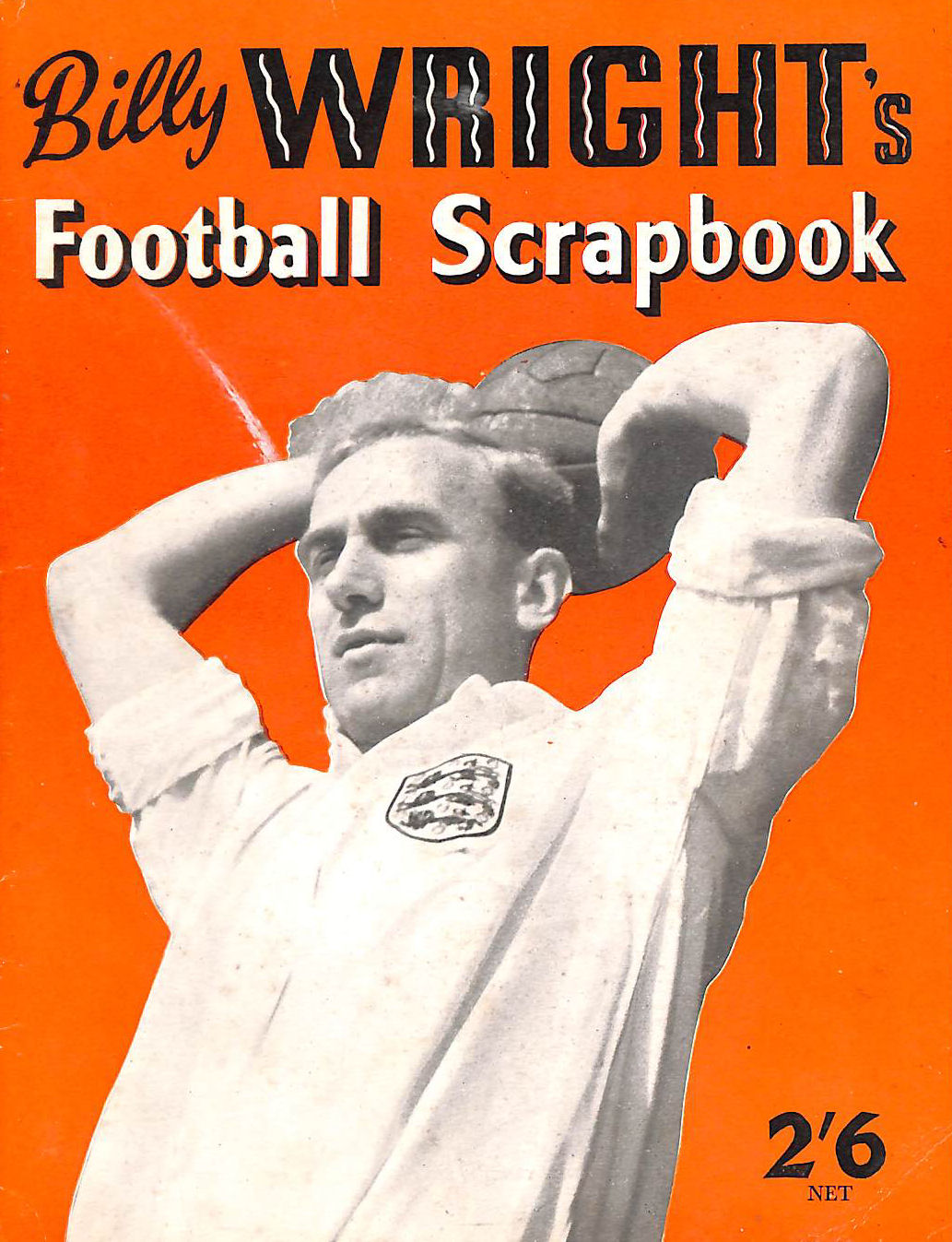 Image for Billy Wright's Football Scrapbook