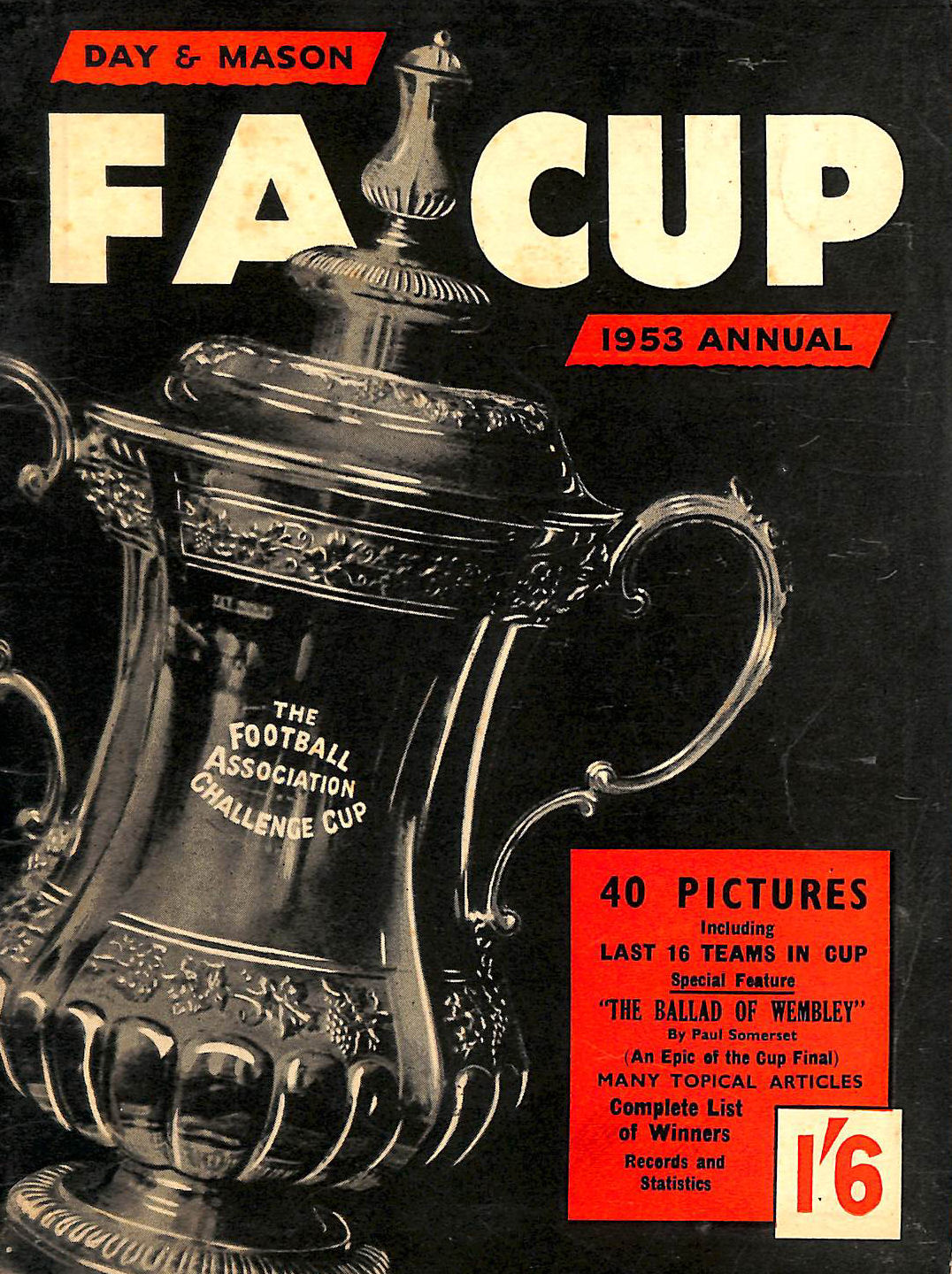 Image for FA Cup 1953 Annual