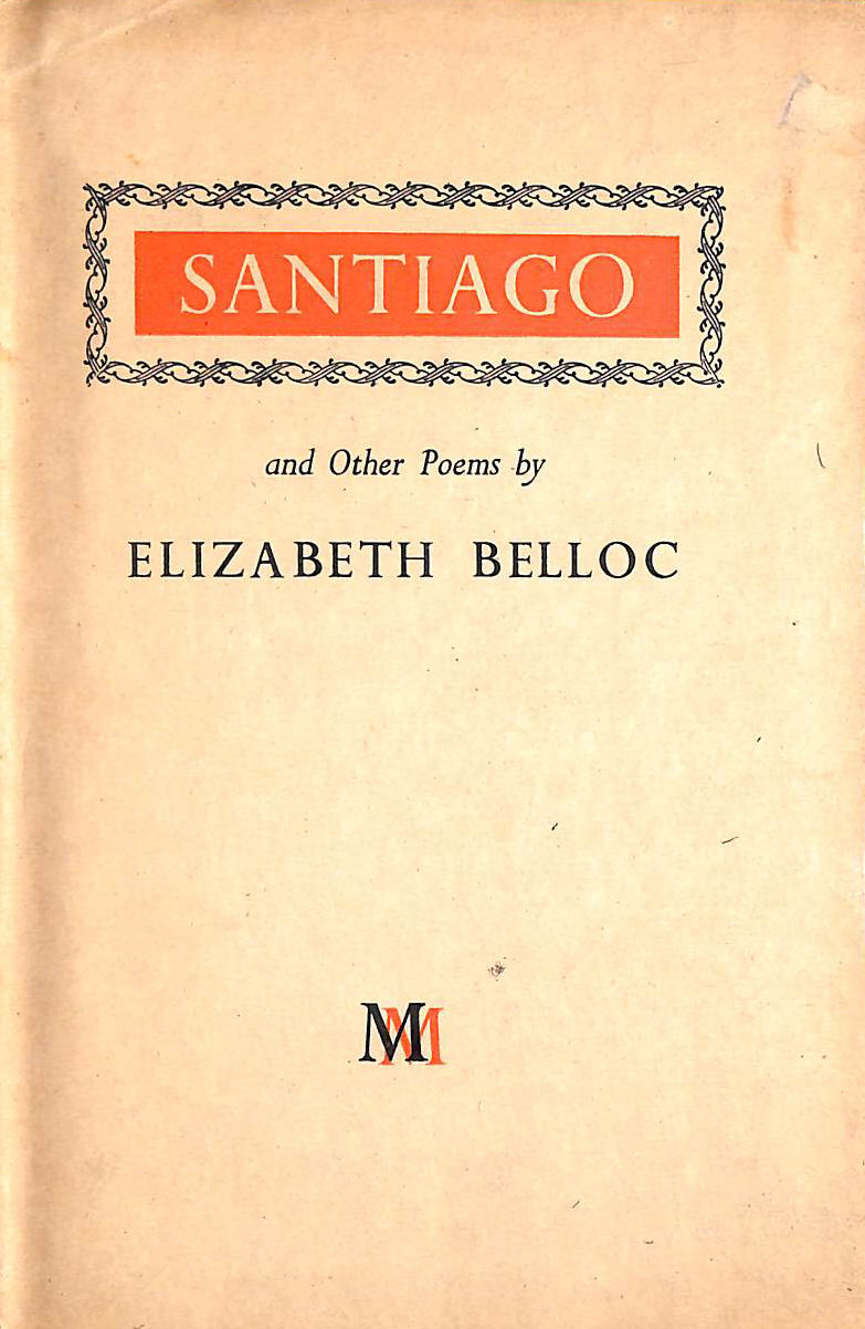 Image for Santiago And Other Poems
