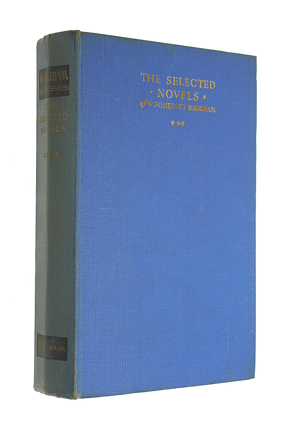 Image for The Selected Novels of W. Somerset Maugham,  Vol. 3
