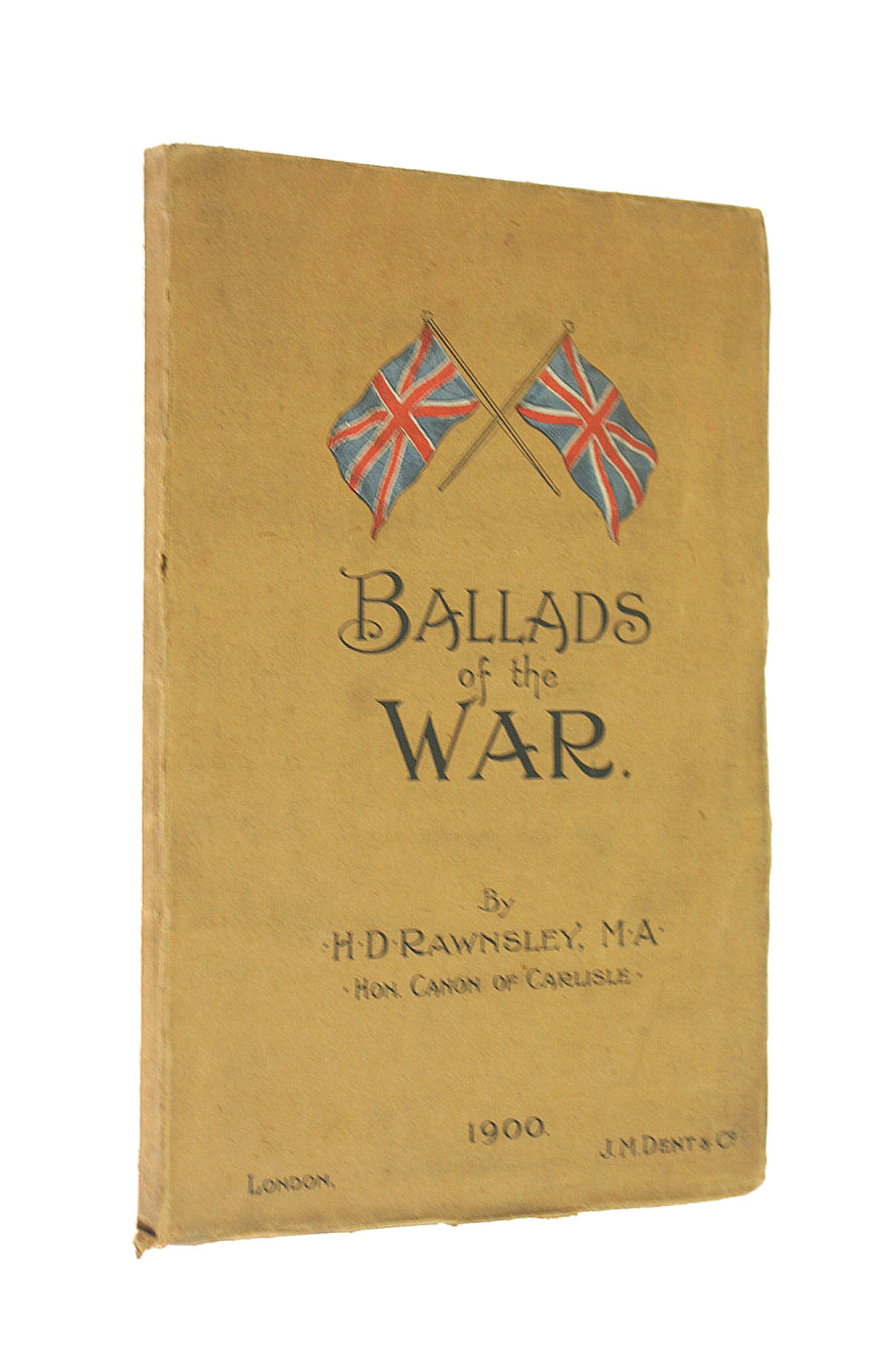 Image for Ballads of the War