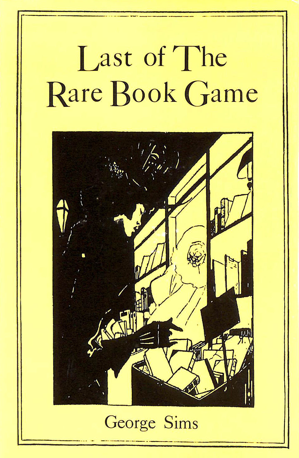 Image for Last of the Rare Book Game