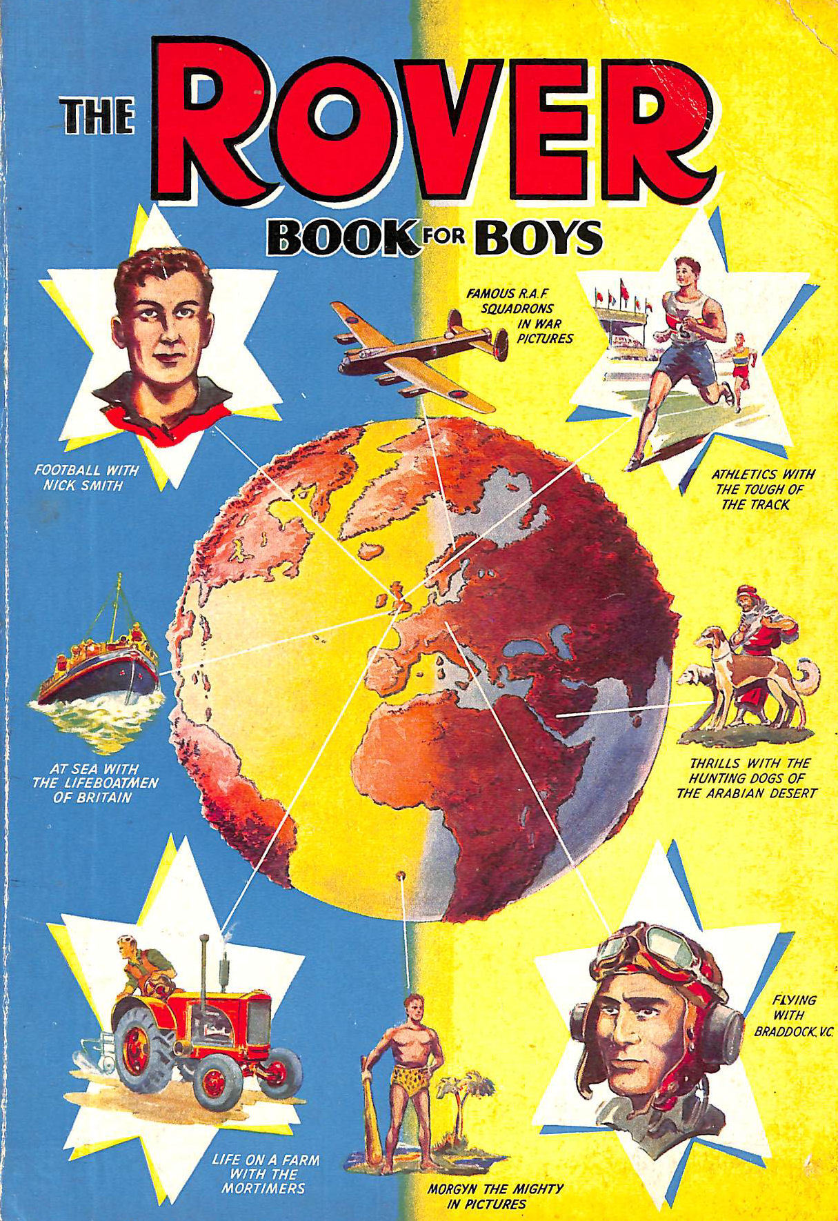 Image for The Rover Book For Boys 1956