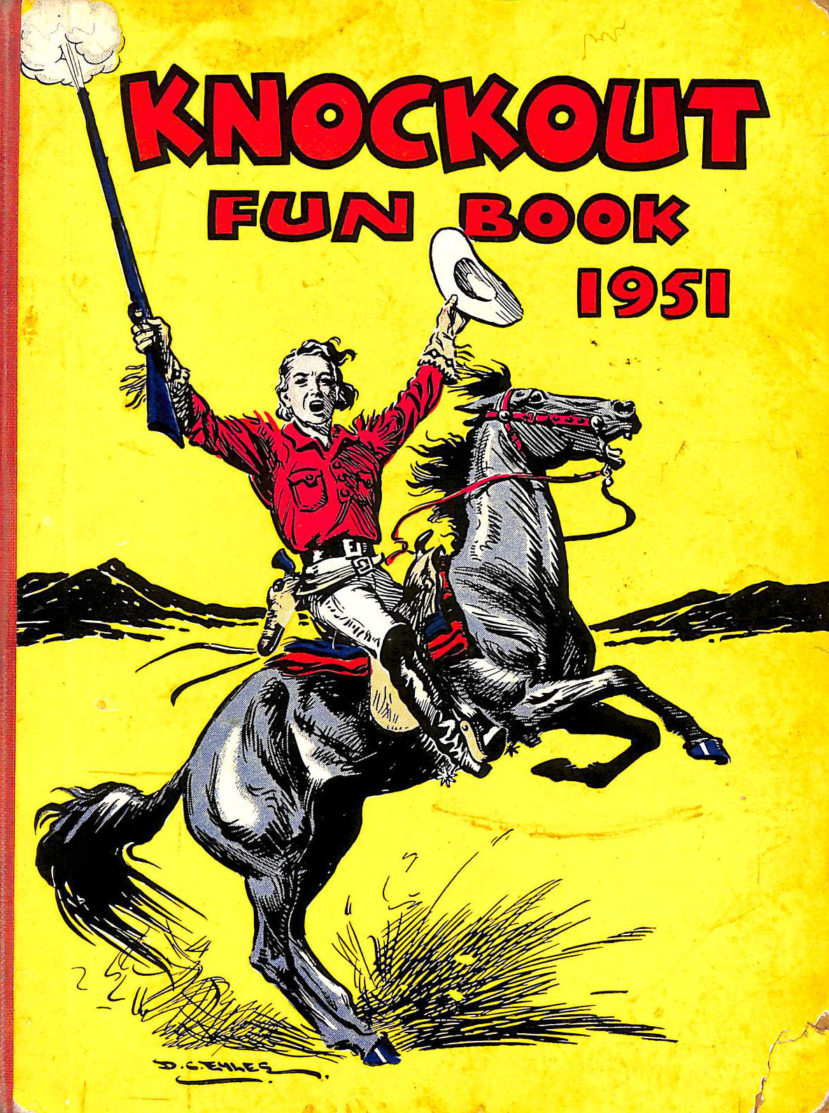 Image for Knockout Fun Book 1951