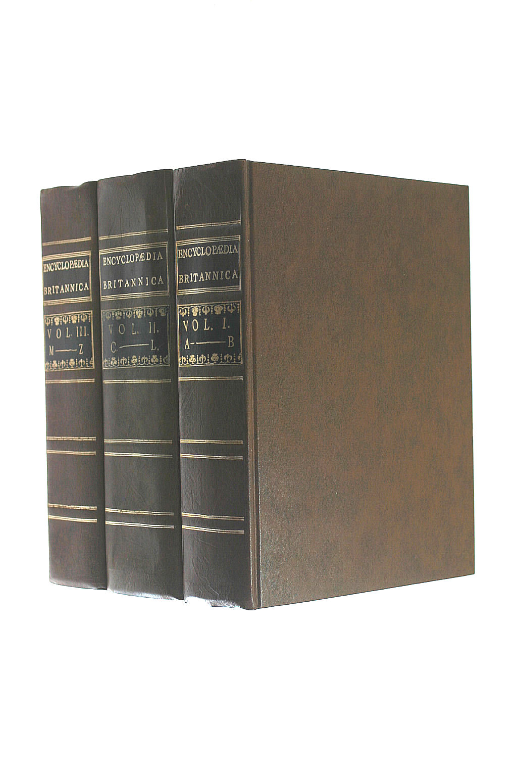 Image for Encyclopedia Britannica Facsimile First Edition (3 Volumes)