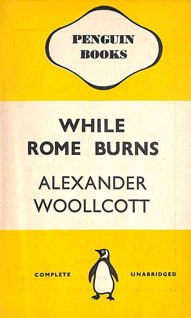 Image for While Rome Burns