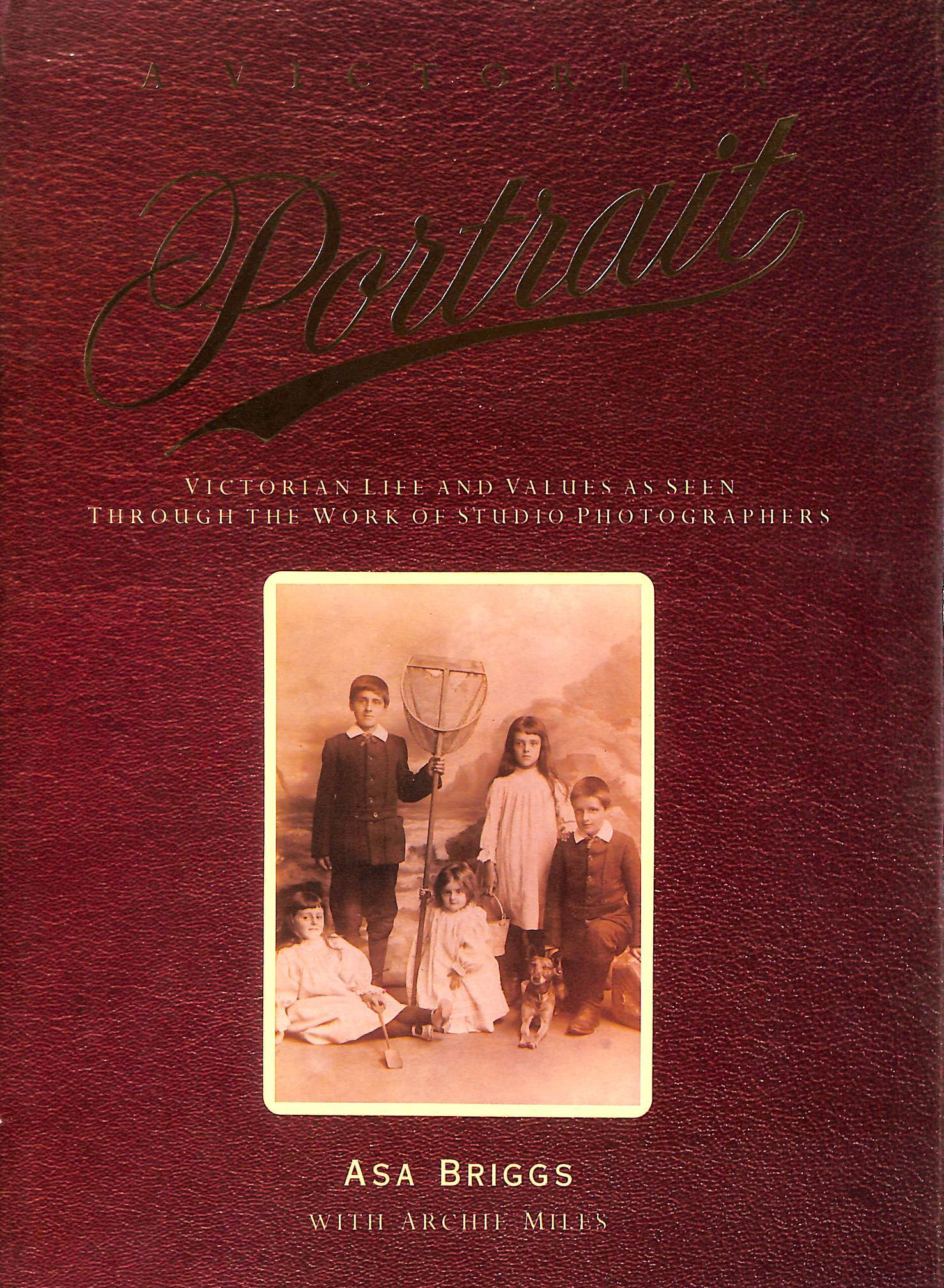 Image for A Victorian Portrait: Victorian Life and Values As Seen Through the Work of Studio Photographers