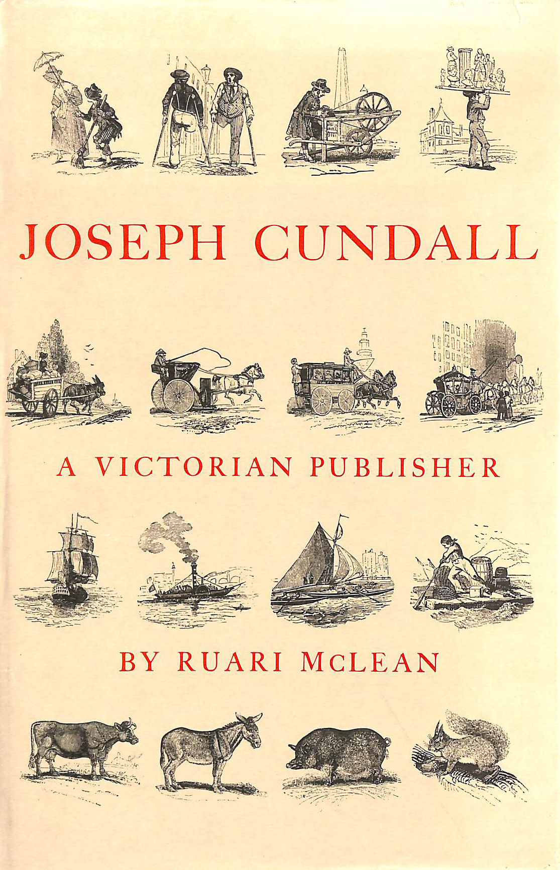 Image for Joseph Cundall, a Victorian Publisher: Notes on His Life and a Check-list of His Books