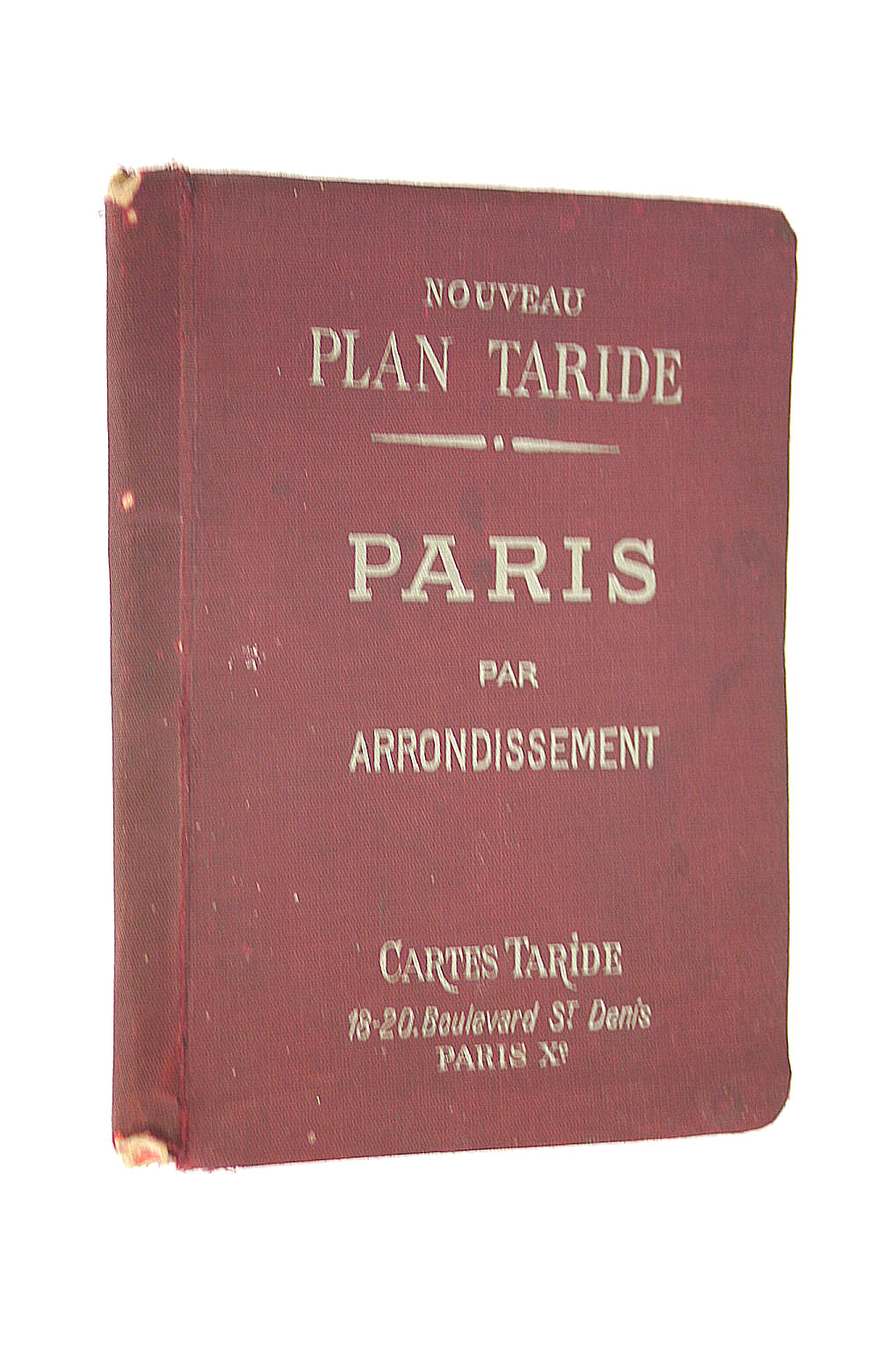 Image for Nouveau Plan Taride. Paris Par Arrondissement.
