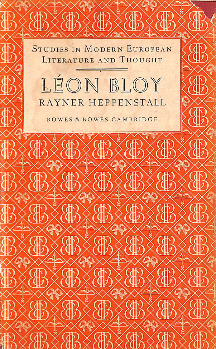 Image for Leon Bloy ( Studies In Modern European Literature And Thought.