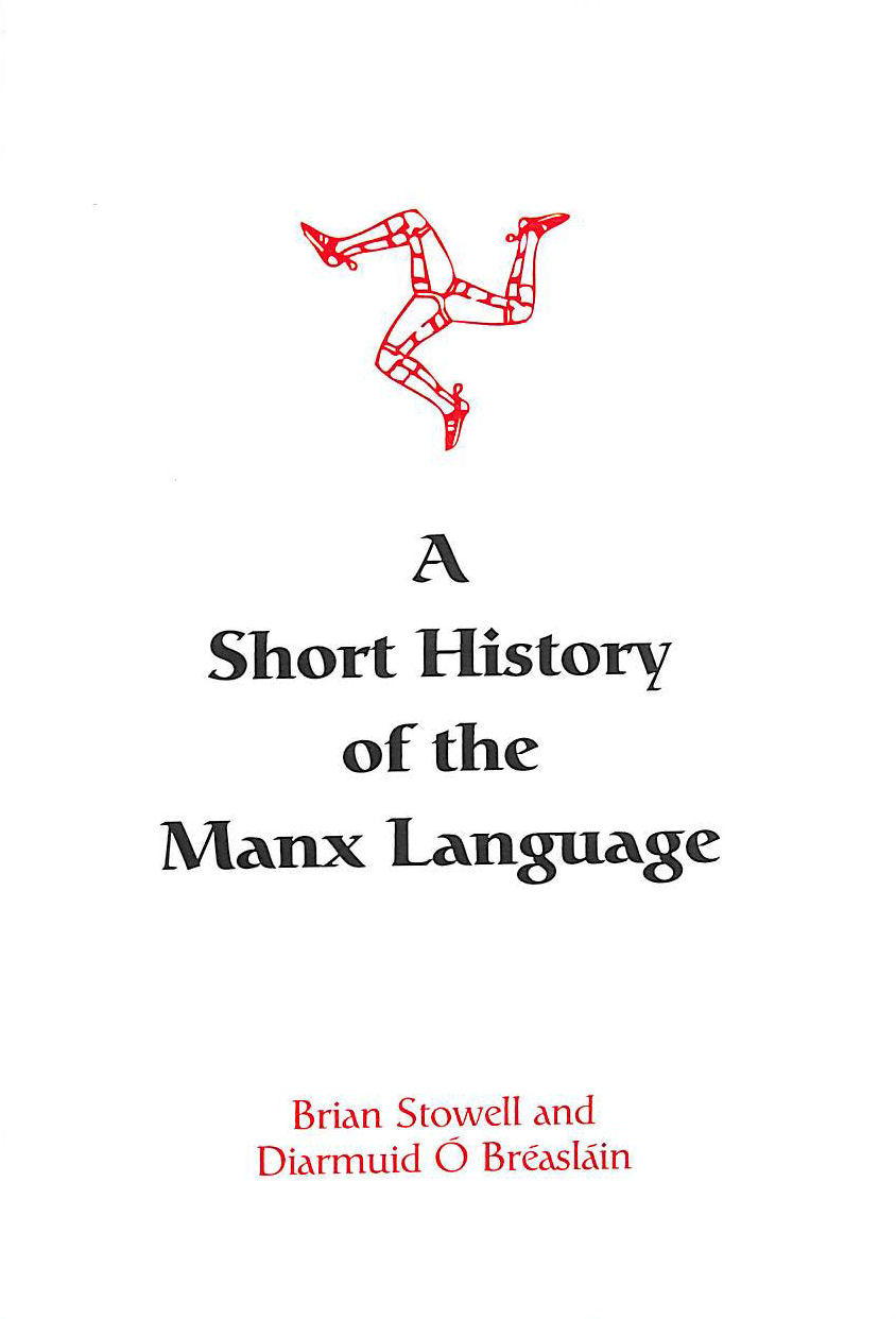 Image for A Short History of the Manx Language