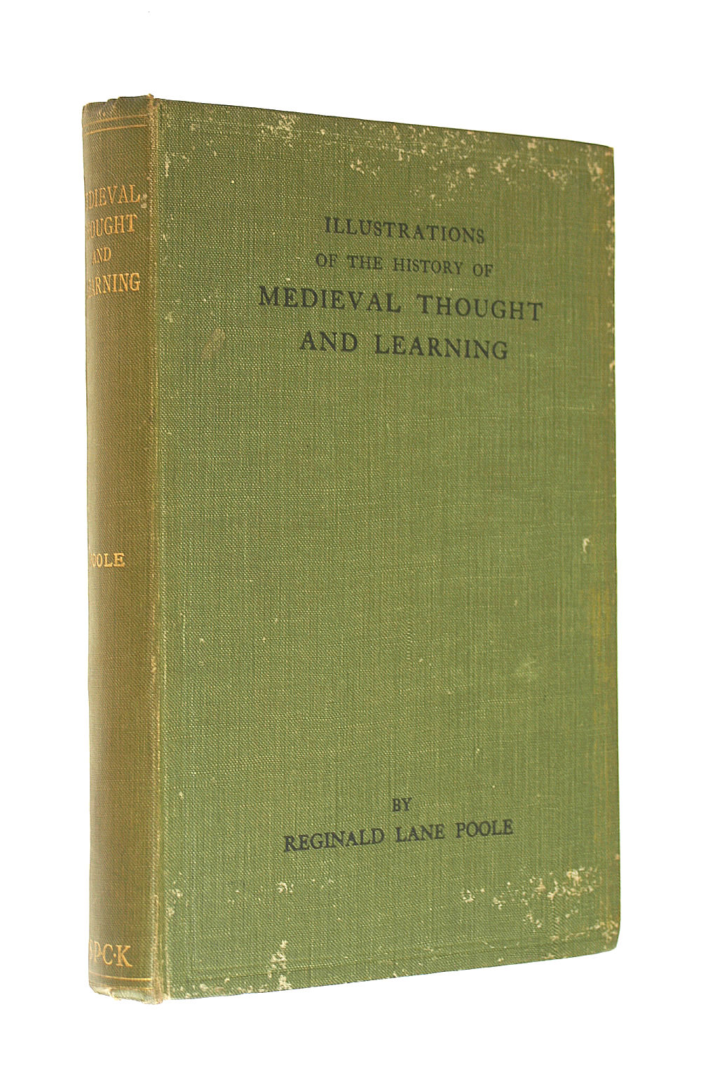 Image for Illustrations of the history of medieval thought and learning