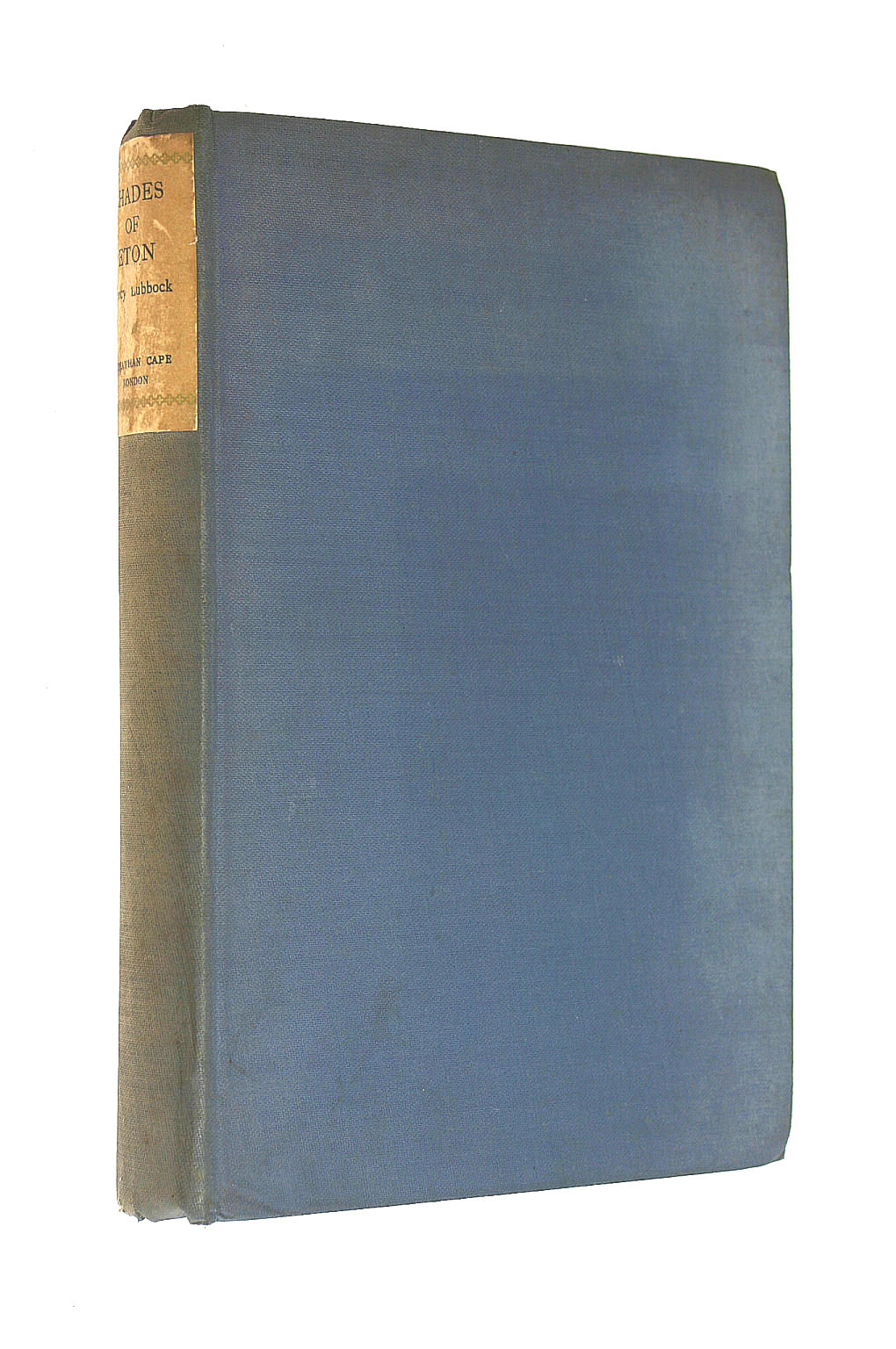 Image for Shades of Eton, by Percy Lubbock