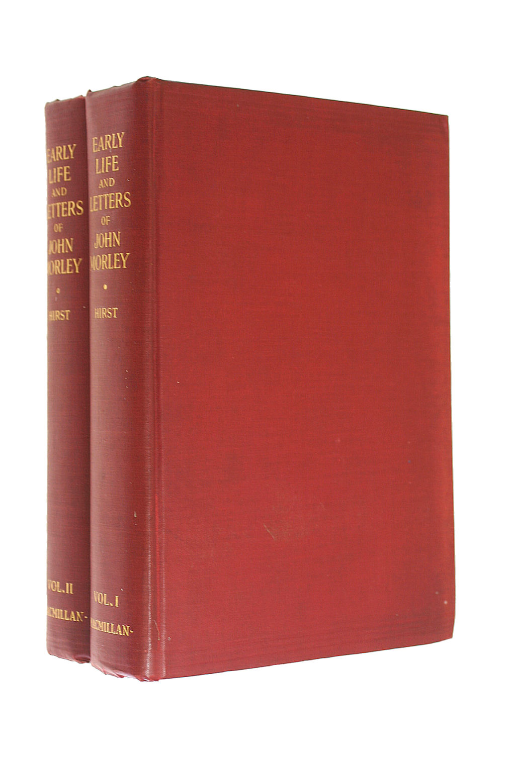 Image for Early Life and Letters of John Morley - Vols. I & II
