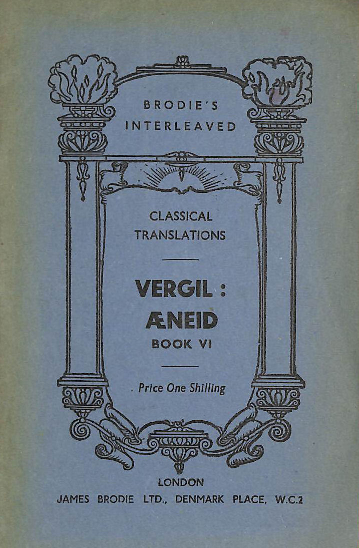 Image for Vergil : Aeneid Book VI (Brodie's Classical Translations)