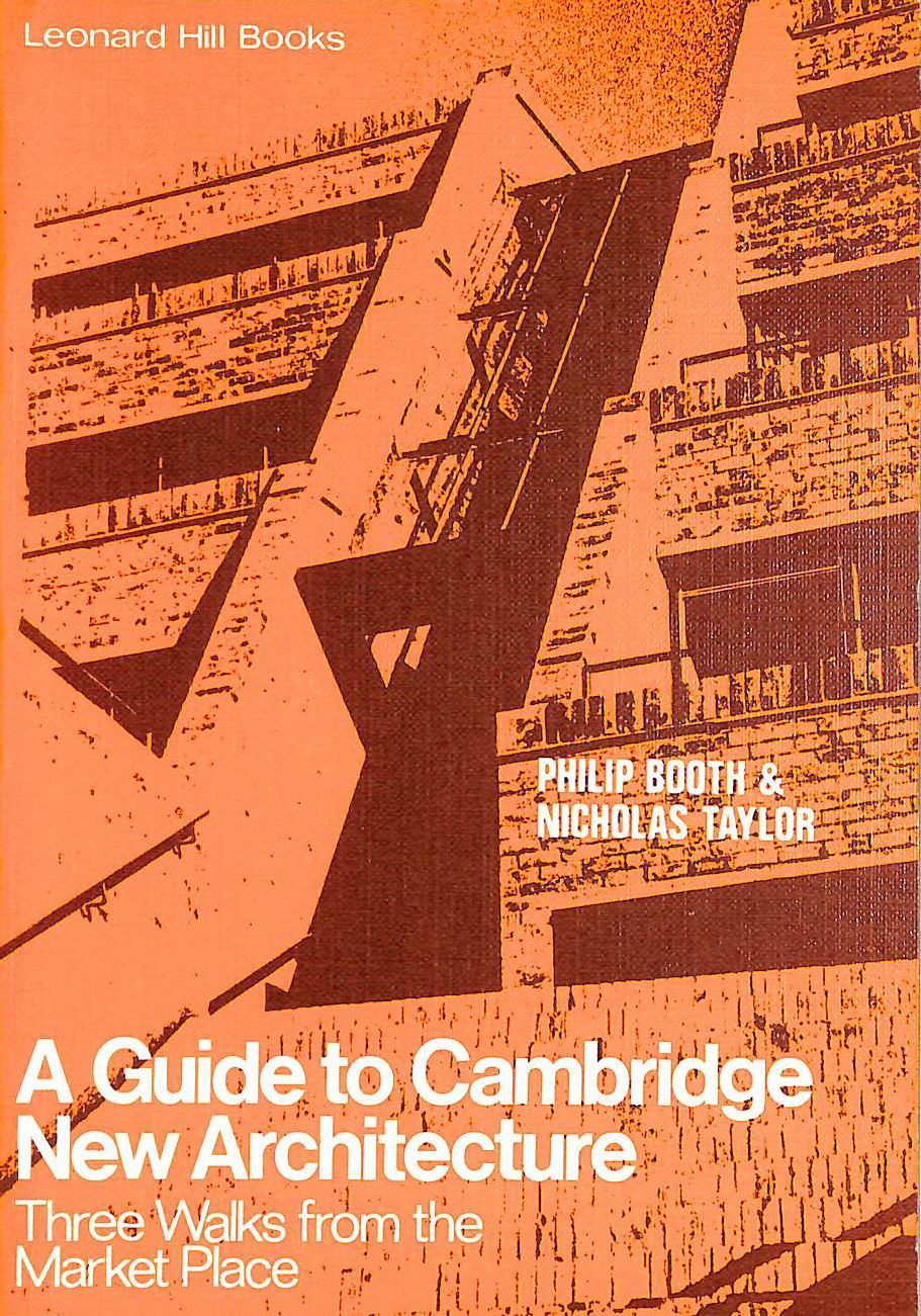 Image for Guide to Cambridge New Architecture: three Wals from the Market Place