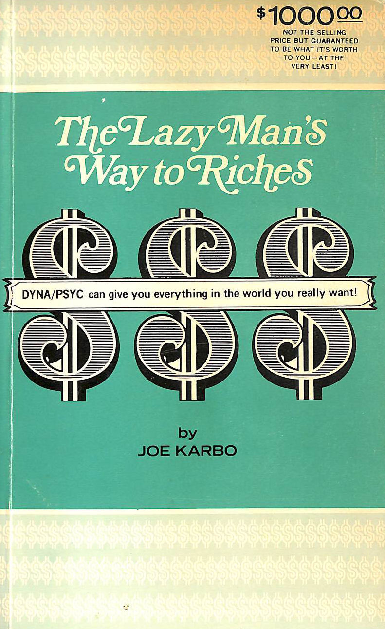 Image for The Lazy Man's Way to Riches