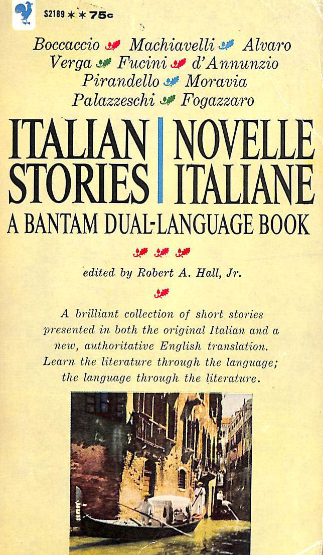 Image for Italian stories: Novelle Italiane. Dual Language Stories