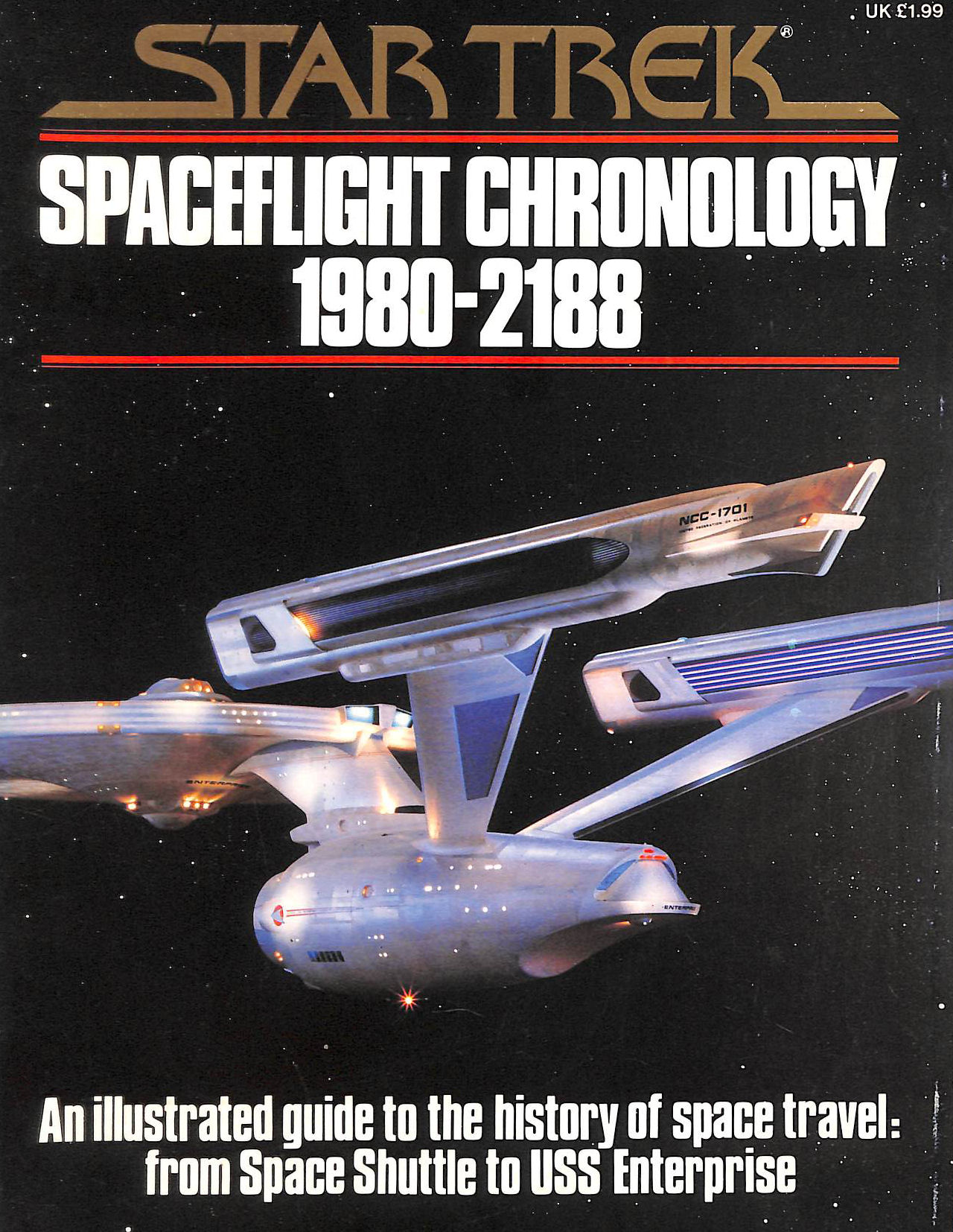 Image for Star Trek Spaceflight Chronology 1980-2188