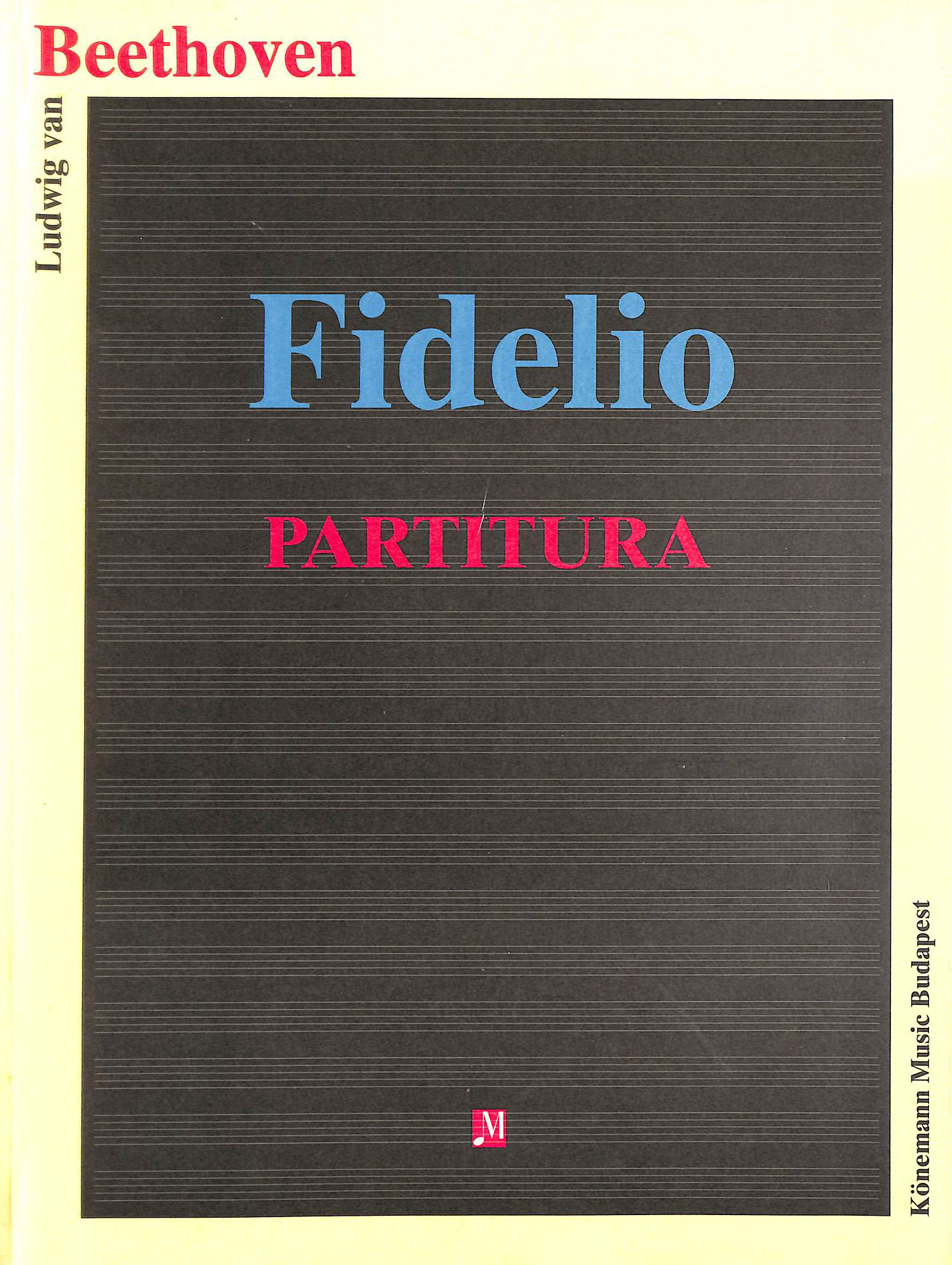 Image for Beethoven: Fidelio Partitura