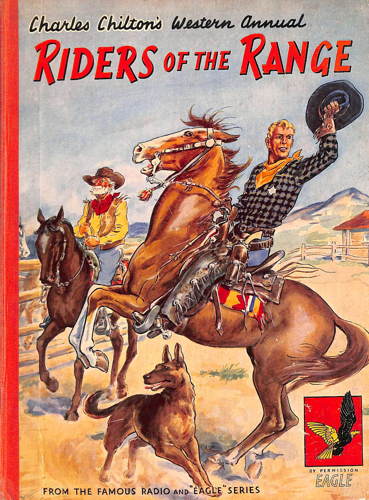 Image for Riders of the Range - Charles Chilton's Western Annual, from the famous Radio and 'Eagle' Series